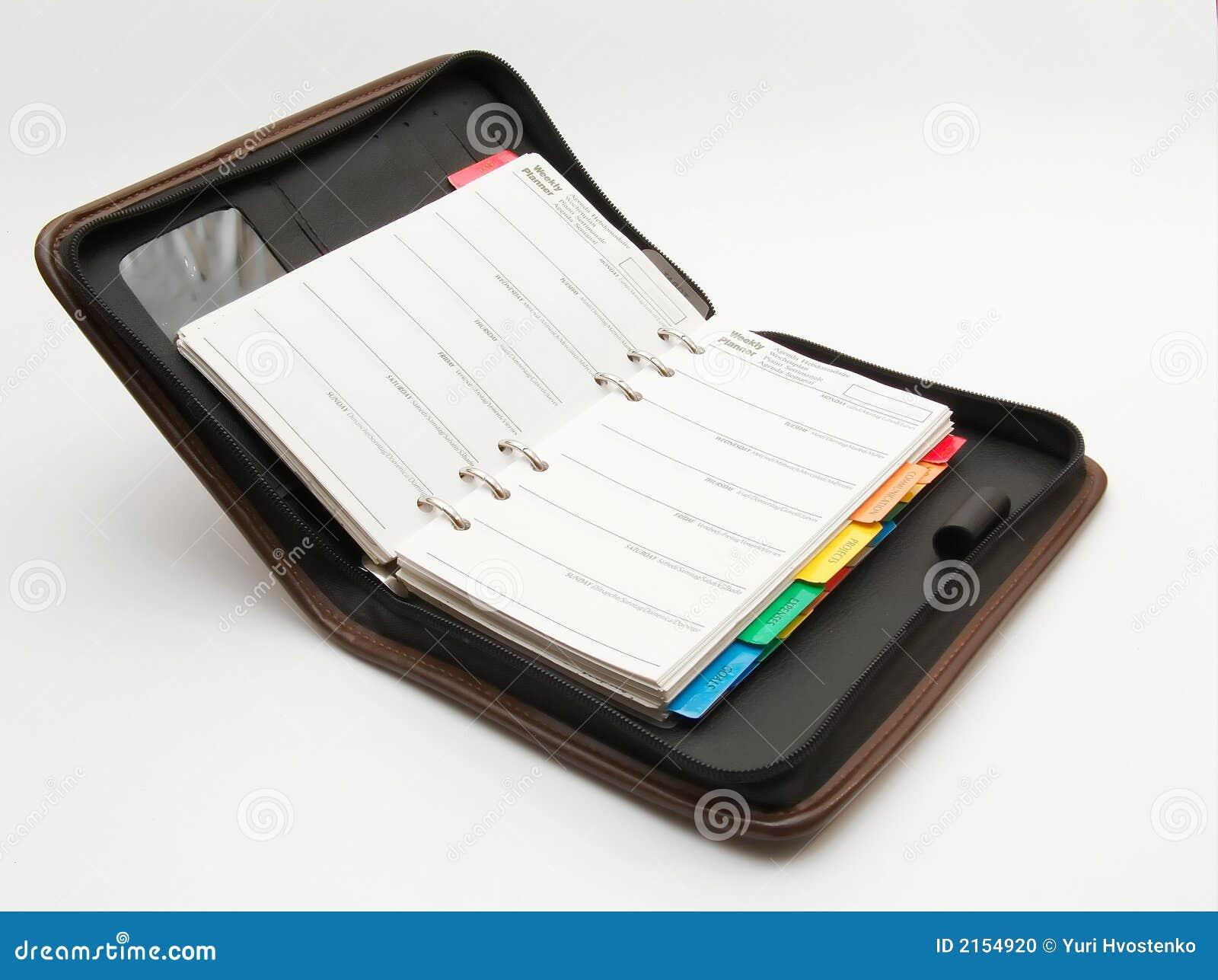 Affärsanteckningsbok