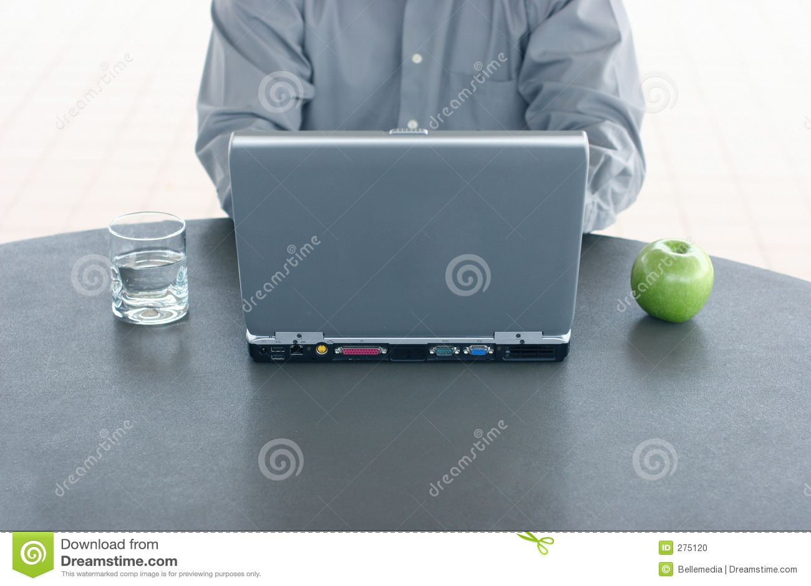 Affärsbärbar dator