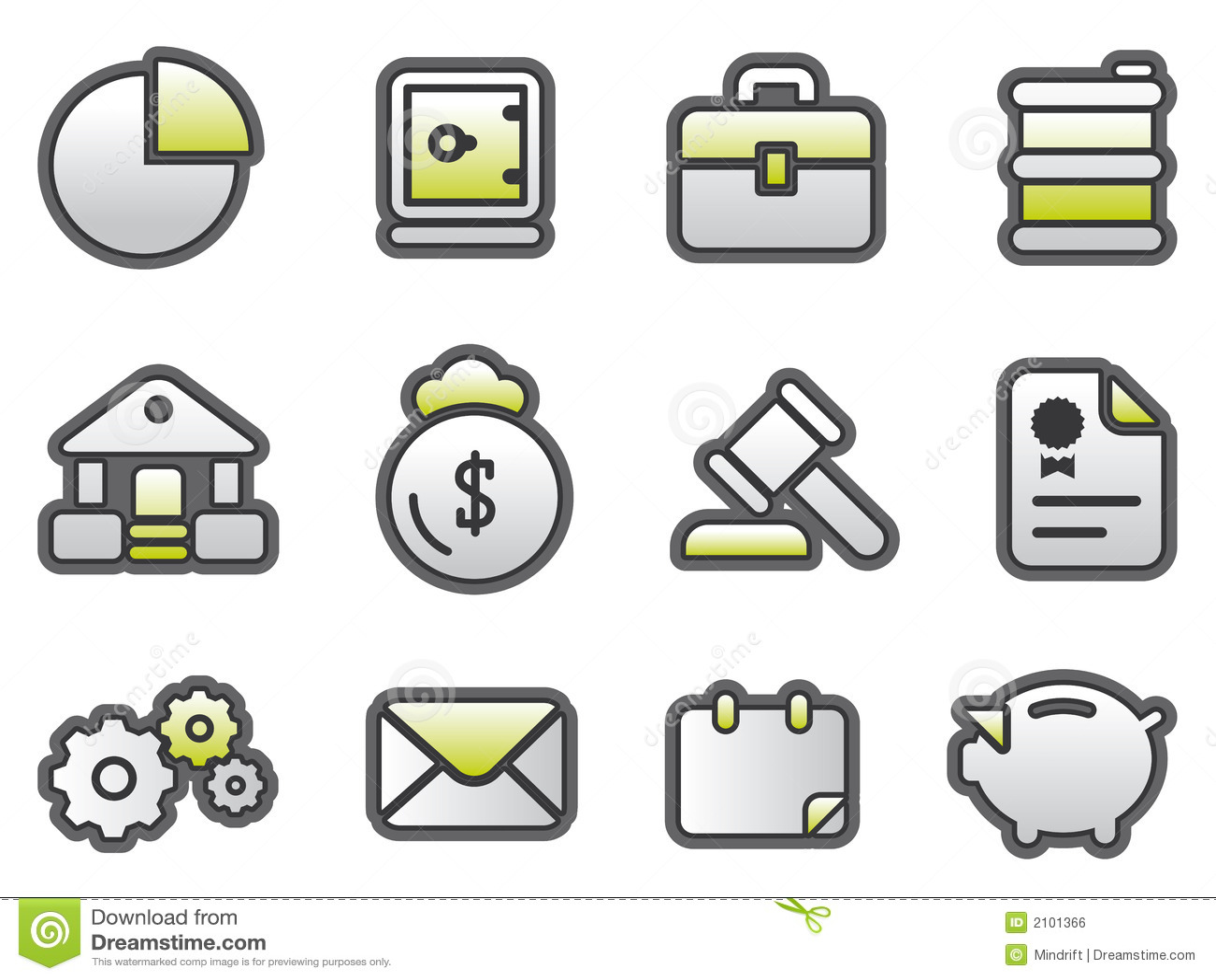 Affärsfinancebuttons