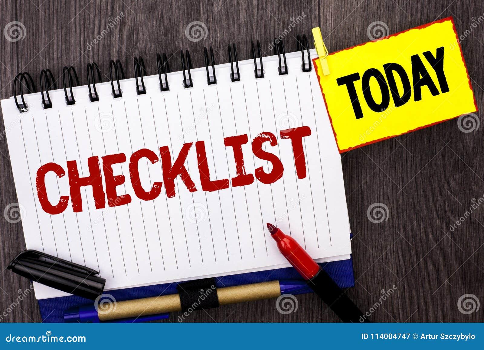 Affärsidé för kontrollista för ordhandstiltext för frågeformuläret för data för återkoppling för rapport för Todolist listaplan s