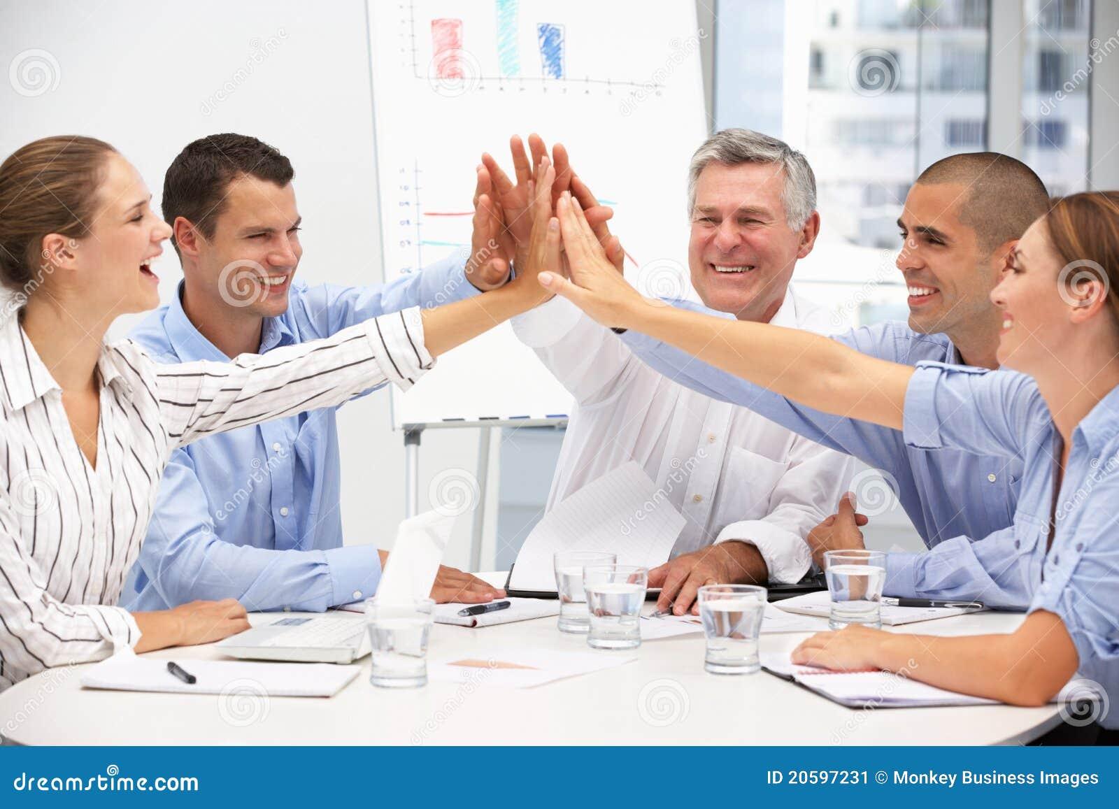 Affärskollegamöte