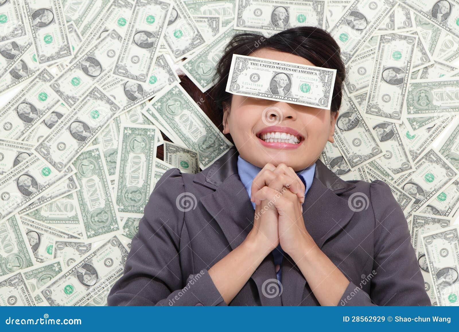 Affärskvinnahopp är rikt