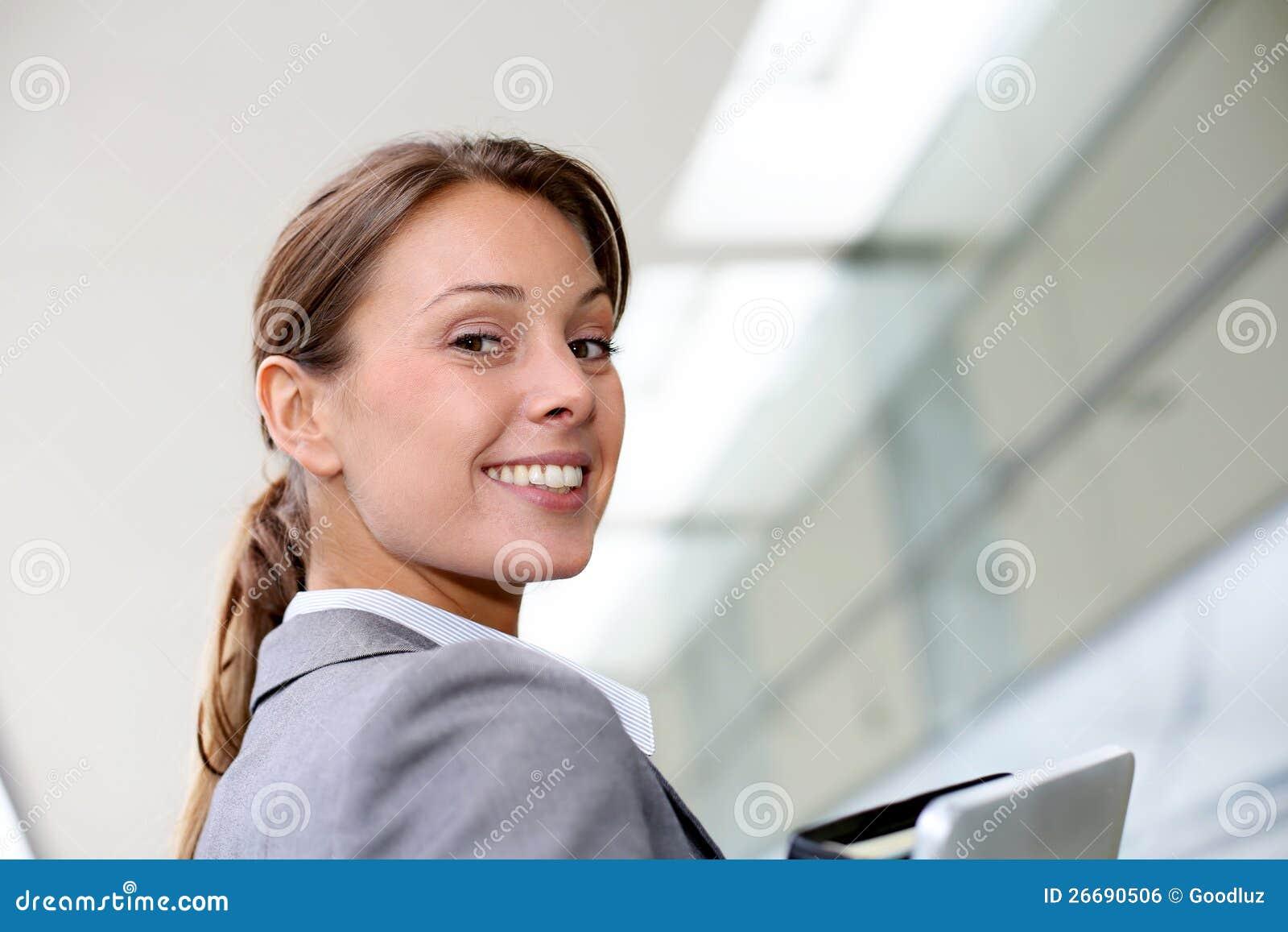 Affärskvinnastående