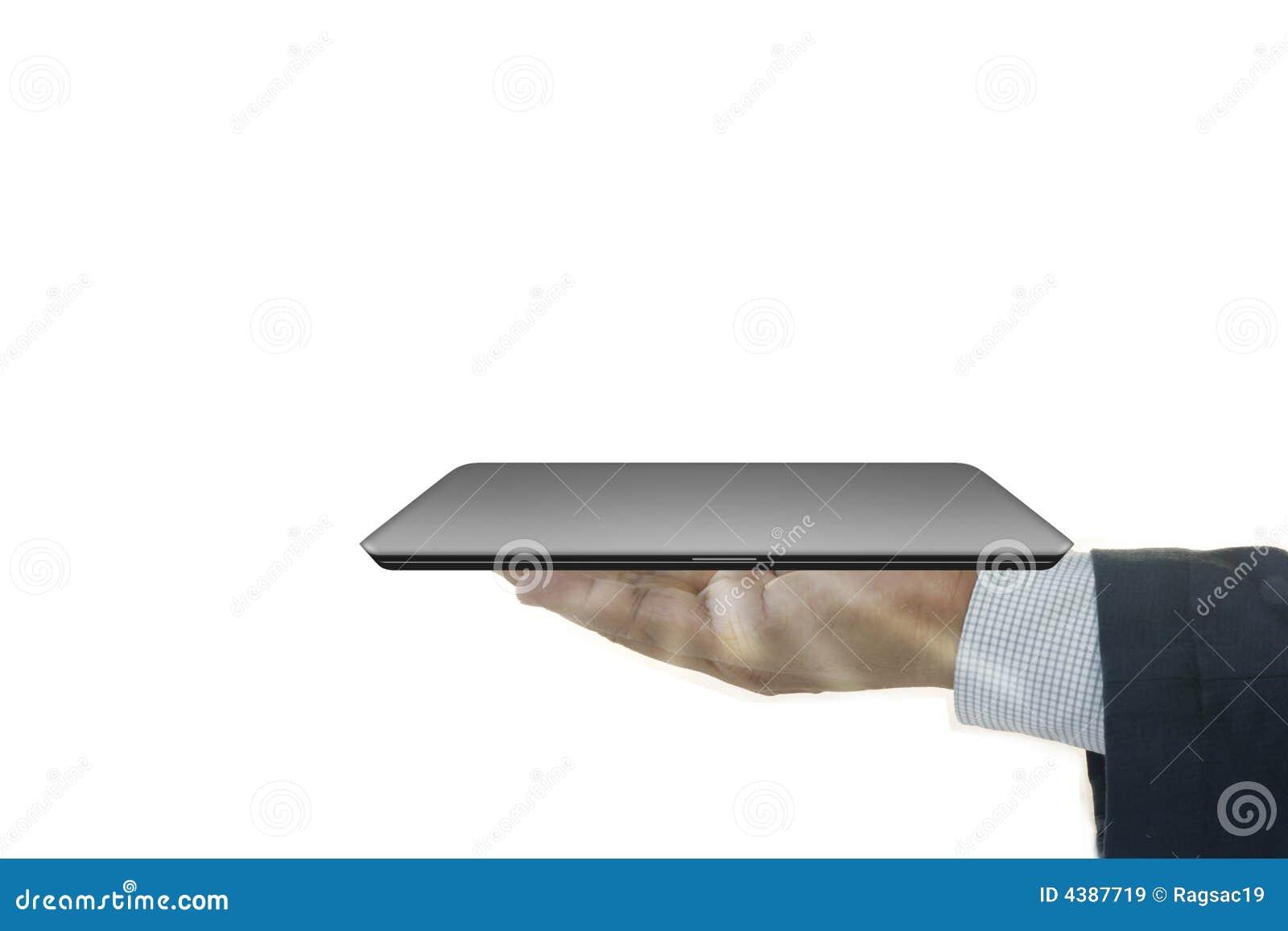 Affärsmanbärbar dator
