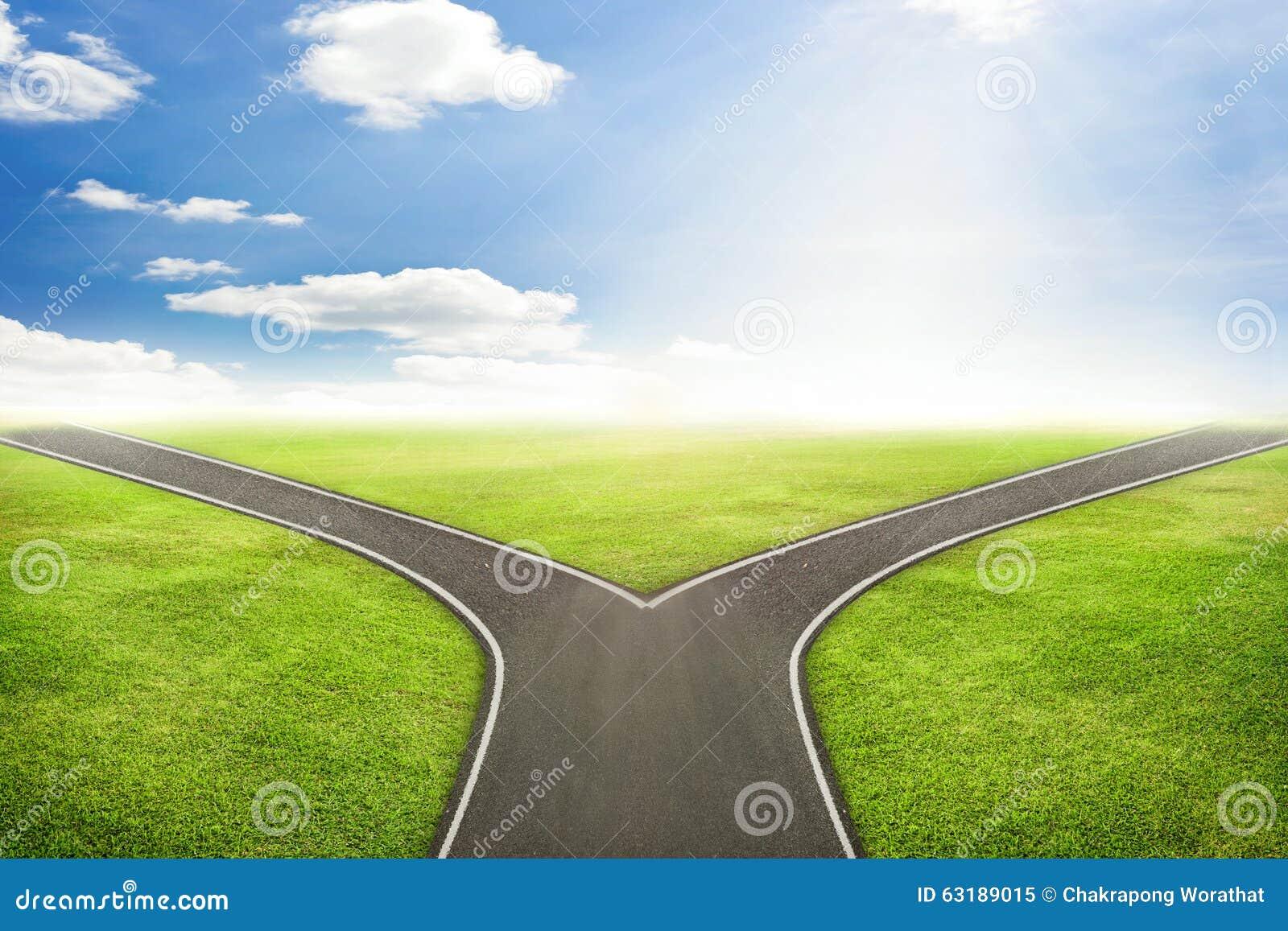 Affärsmanbegrepp, väg till den korrekta vägen