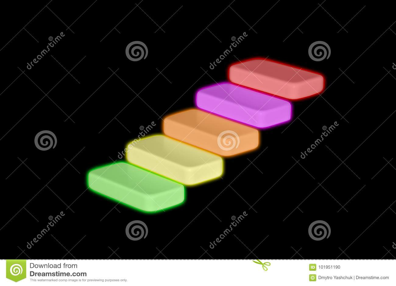 Affärsmannen eller studenten som går hans moment för fingrar som liknar en trappuppgång, monterade upp i lantliga träbräden i en