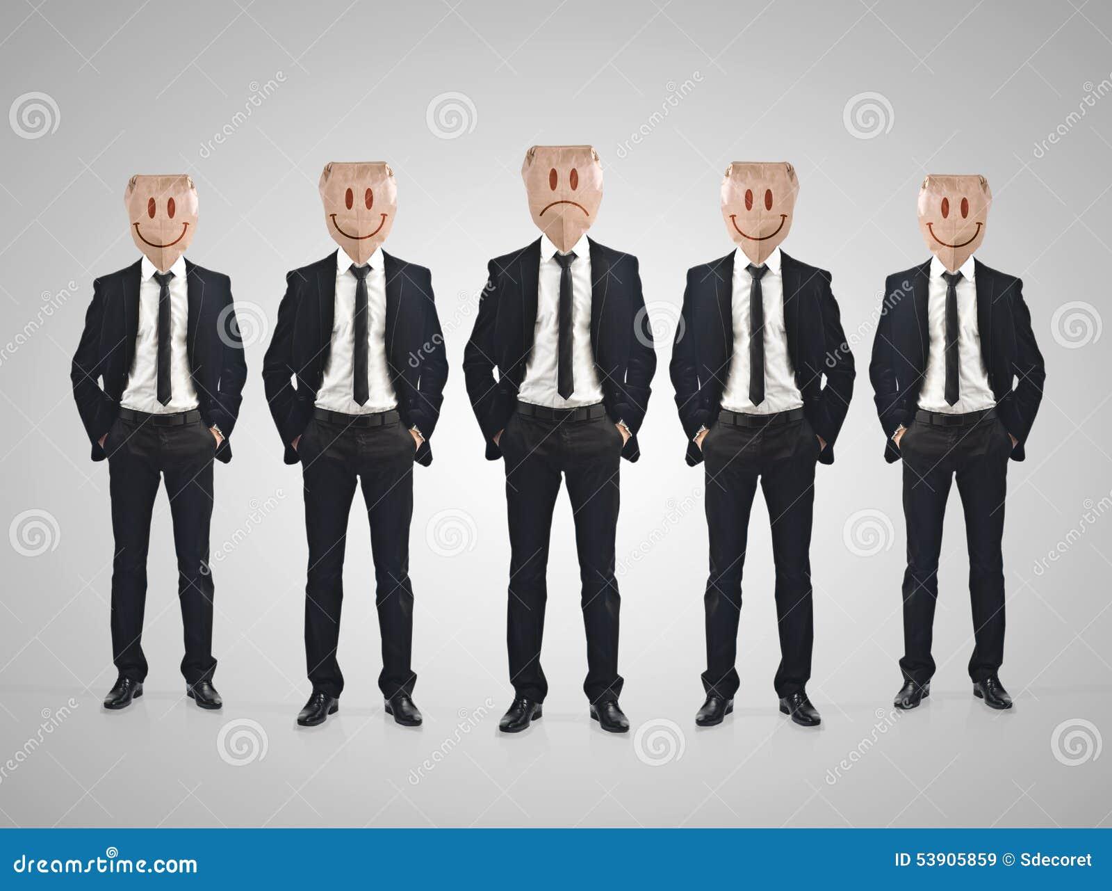 Affärsmanteamworkbegrepp
