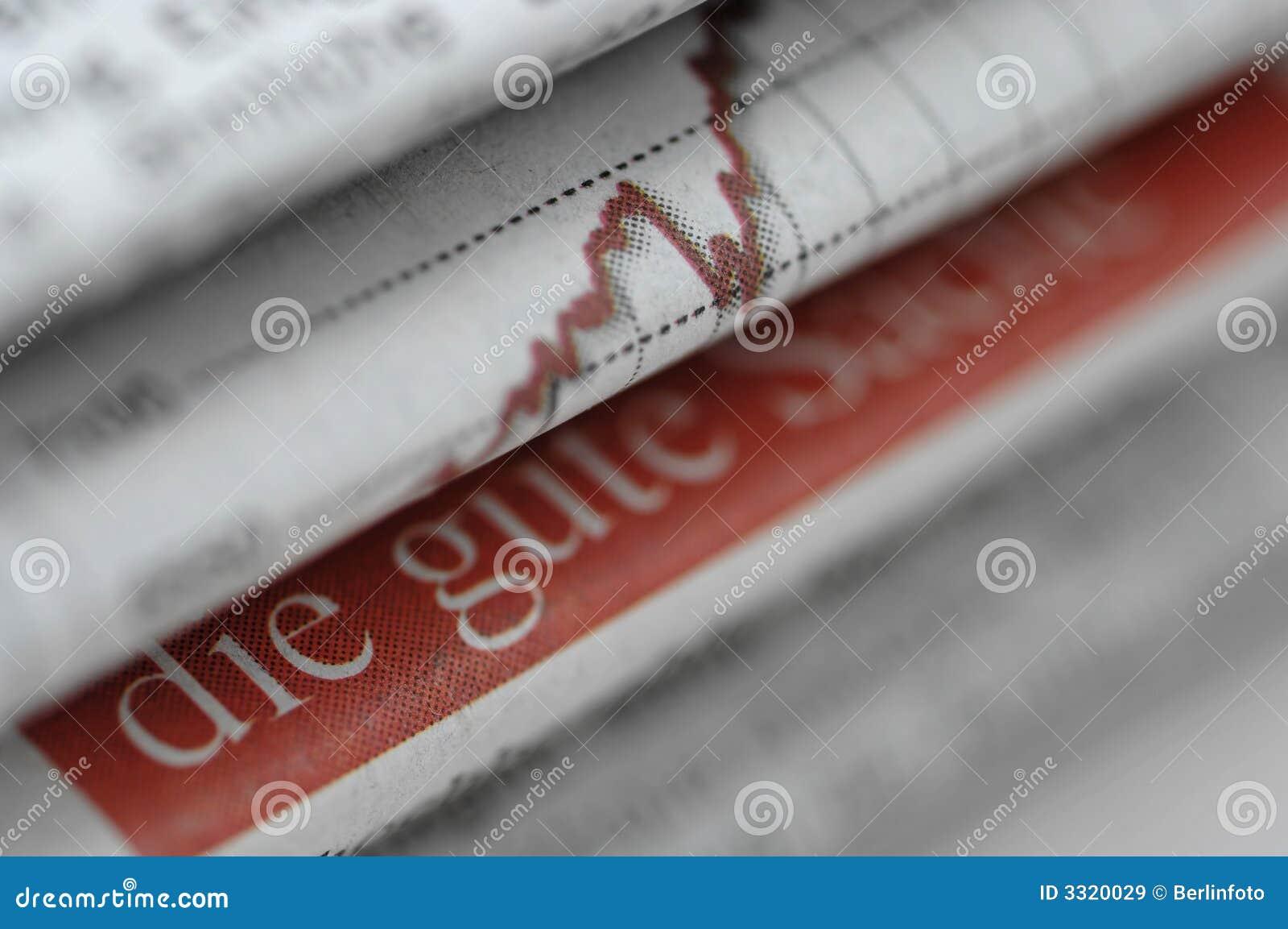 Affärstidningsbunt