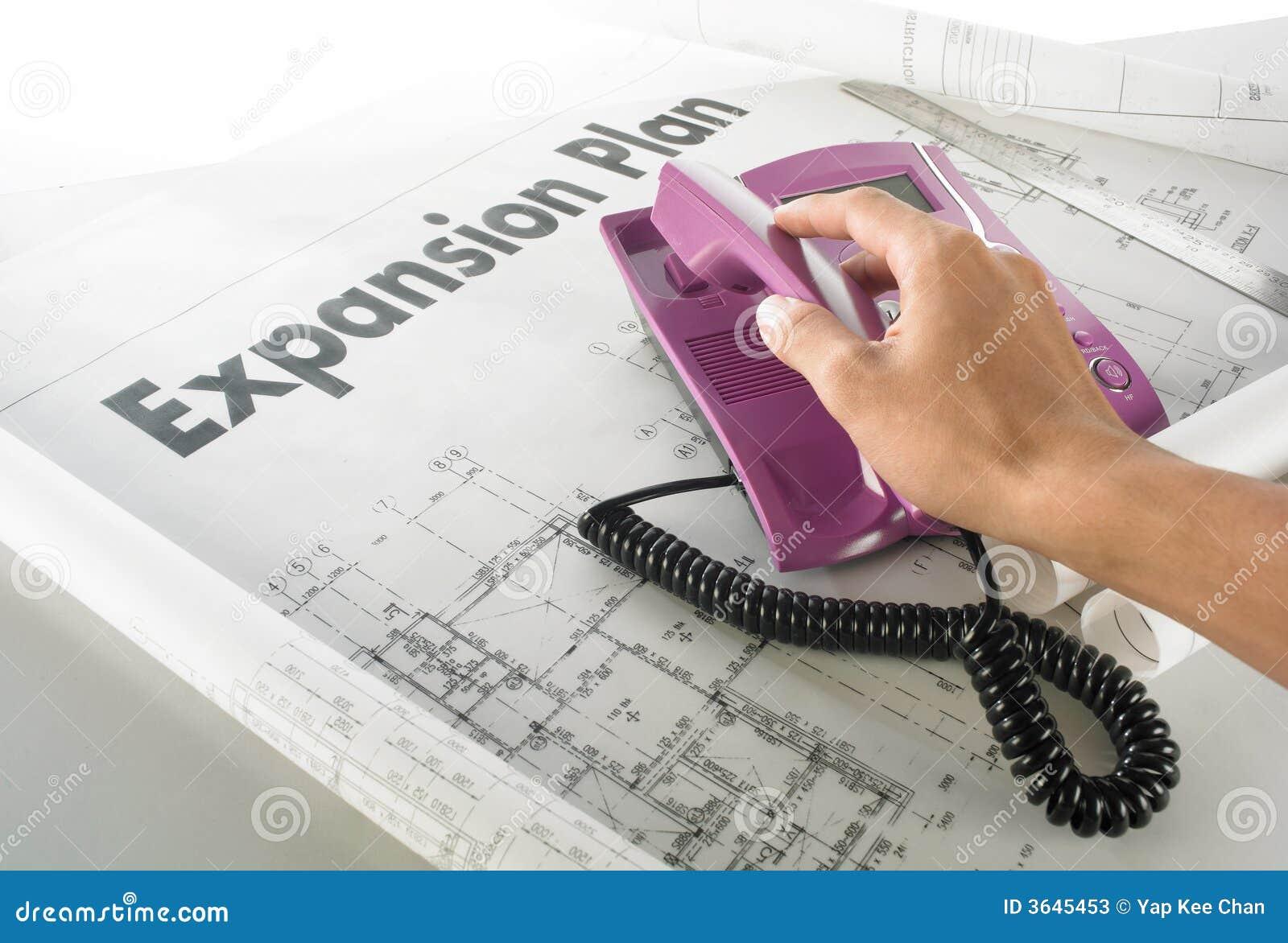 Affärsutbyggnadsplan