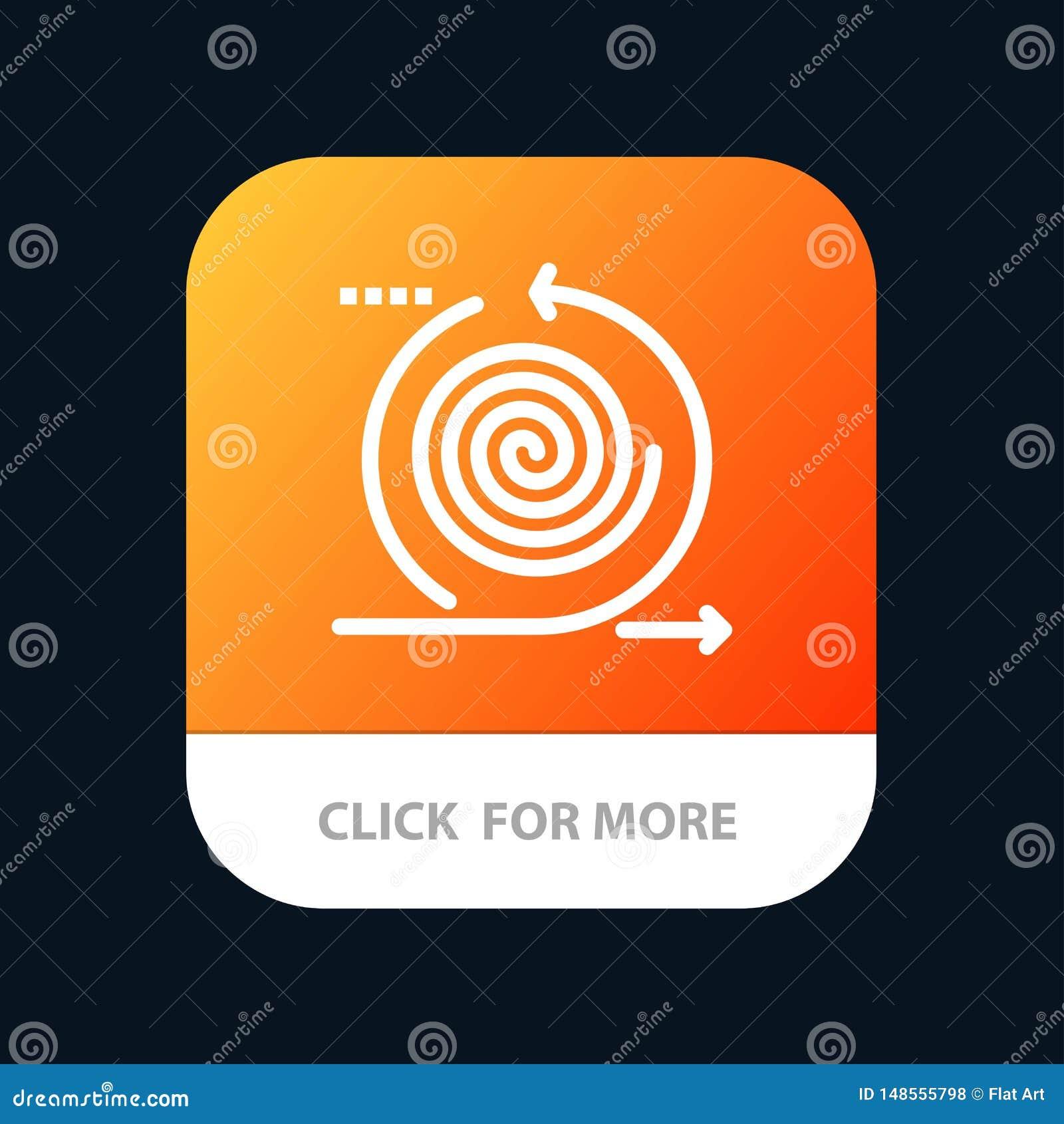 Affaires, cycles, itération, gestion, bouton mobile d appli de produit Android et ligne version d IOS