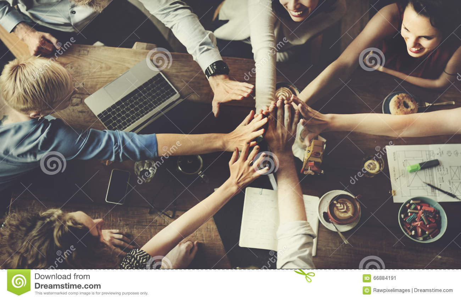 Affaires Team Celebration Party Success Concept