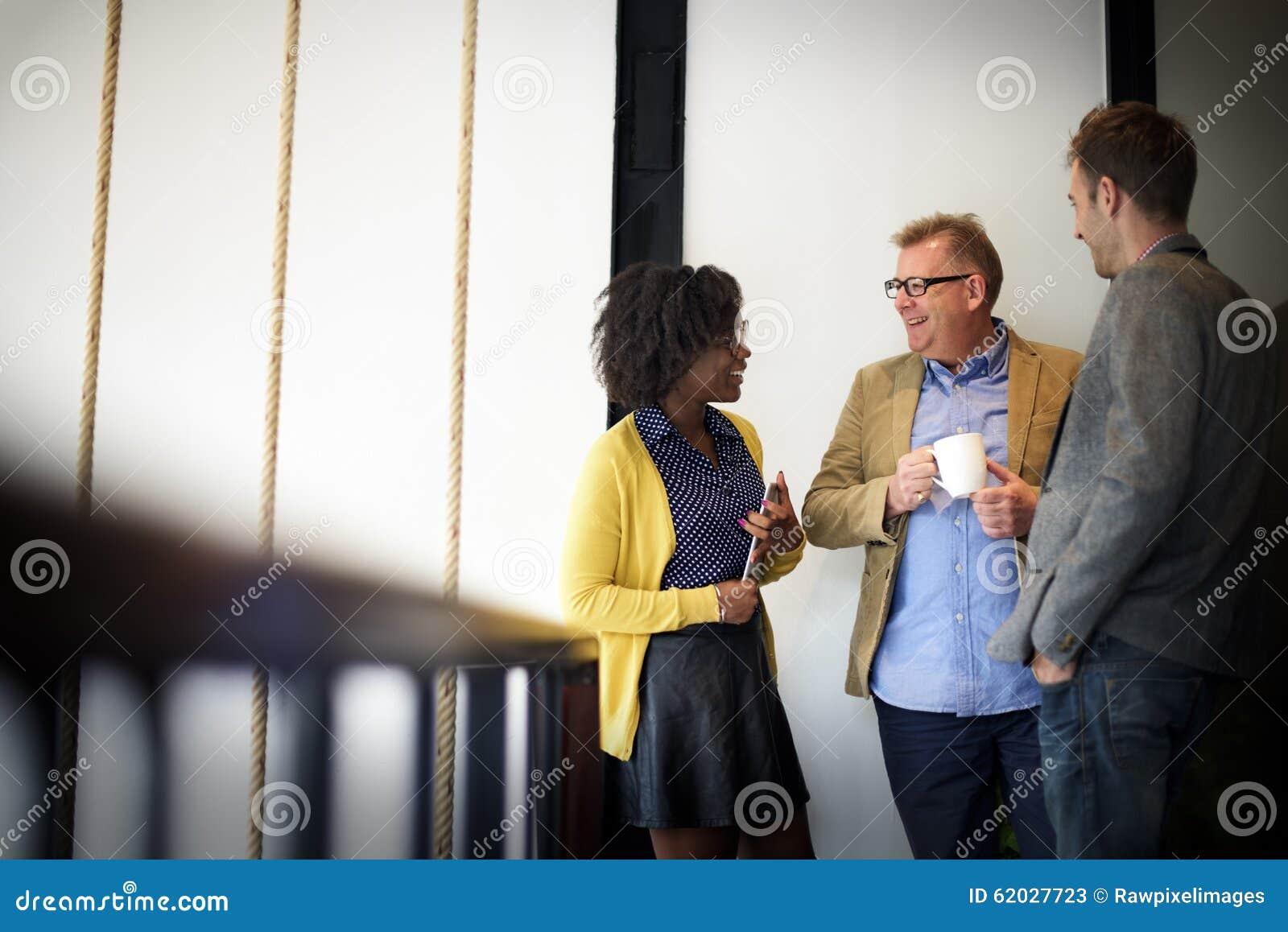 Affaires Team Coffee Break Relax Concept