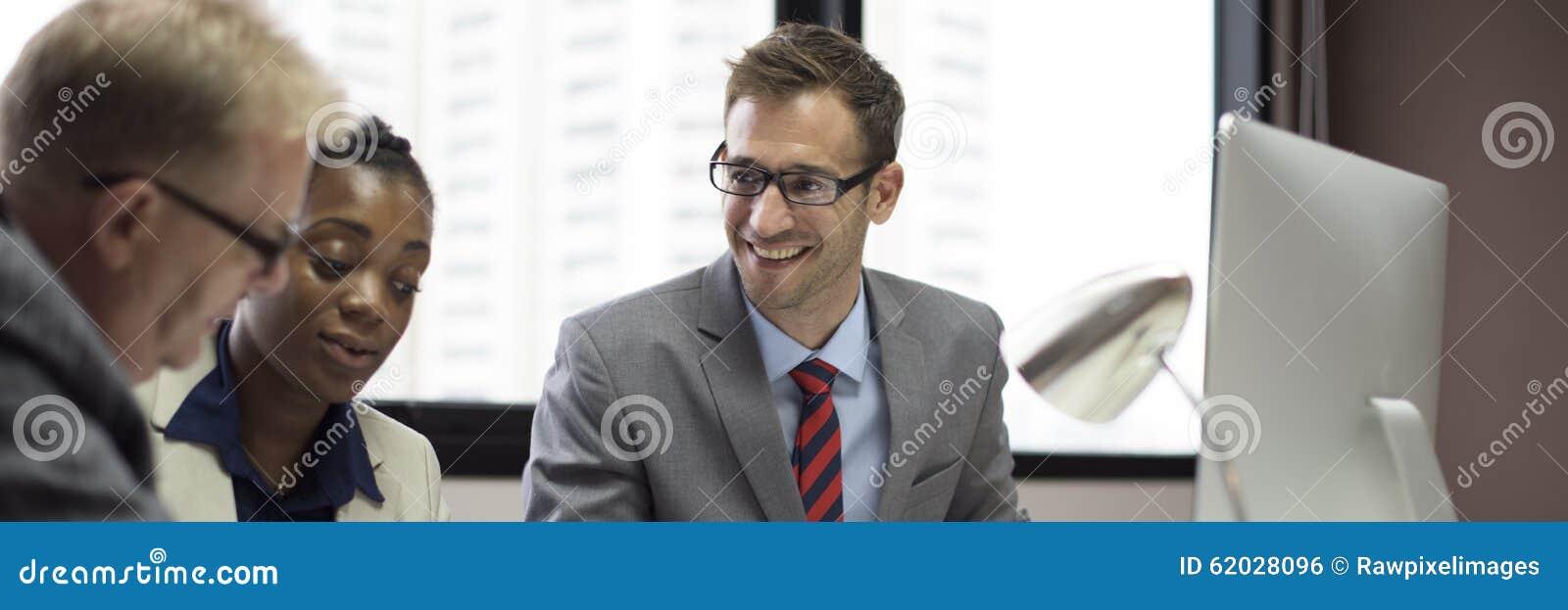 Affaires Team Corporate Organization Meeting Concept