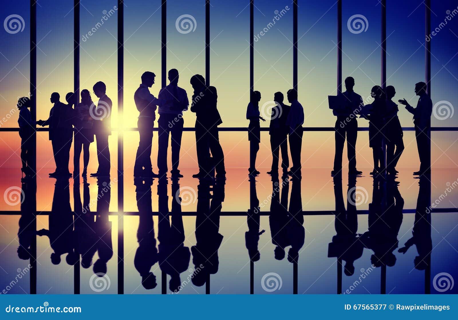 Affaires Team Teamwork Collaboration Support Concept extérieur