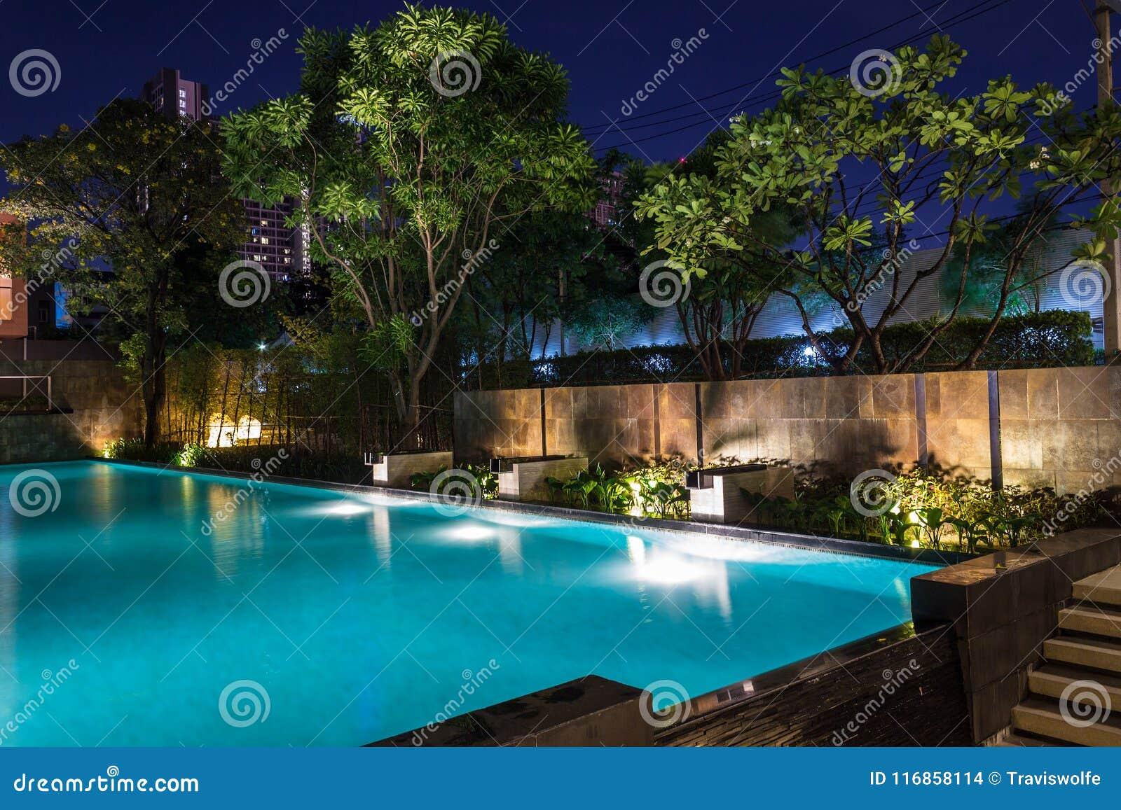 Affare di illuminazione per la piscina di lusso del cortile li