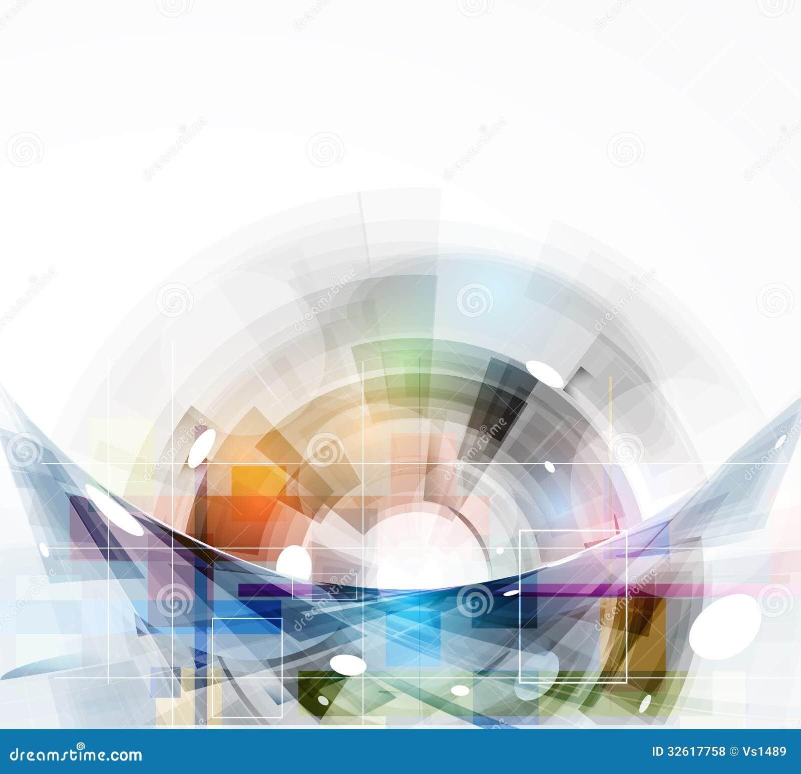 Affare di tecnologie informatiche di Internet futuristico di scienza alto