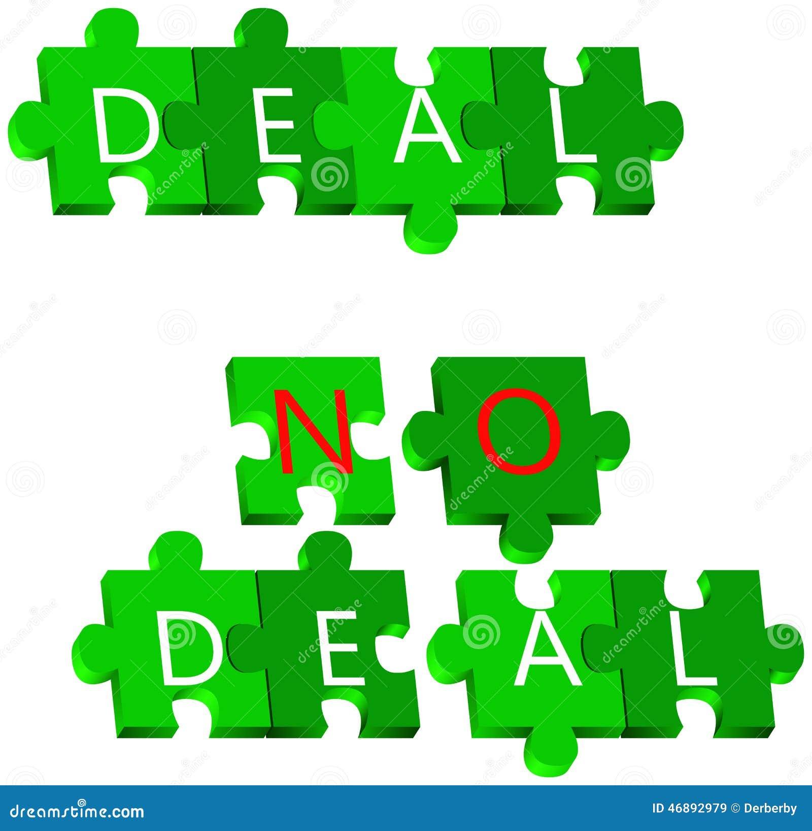 Affare e nessun puzzle di affare
