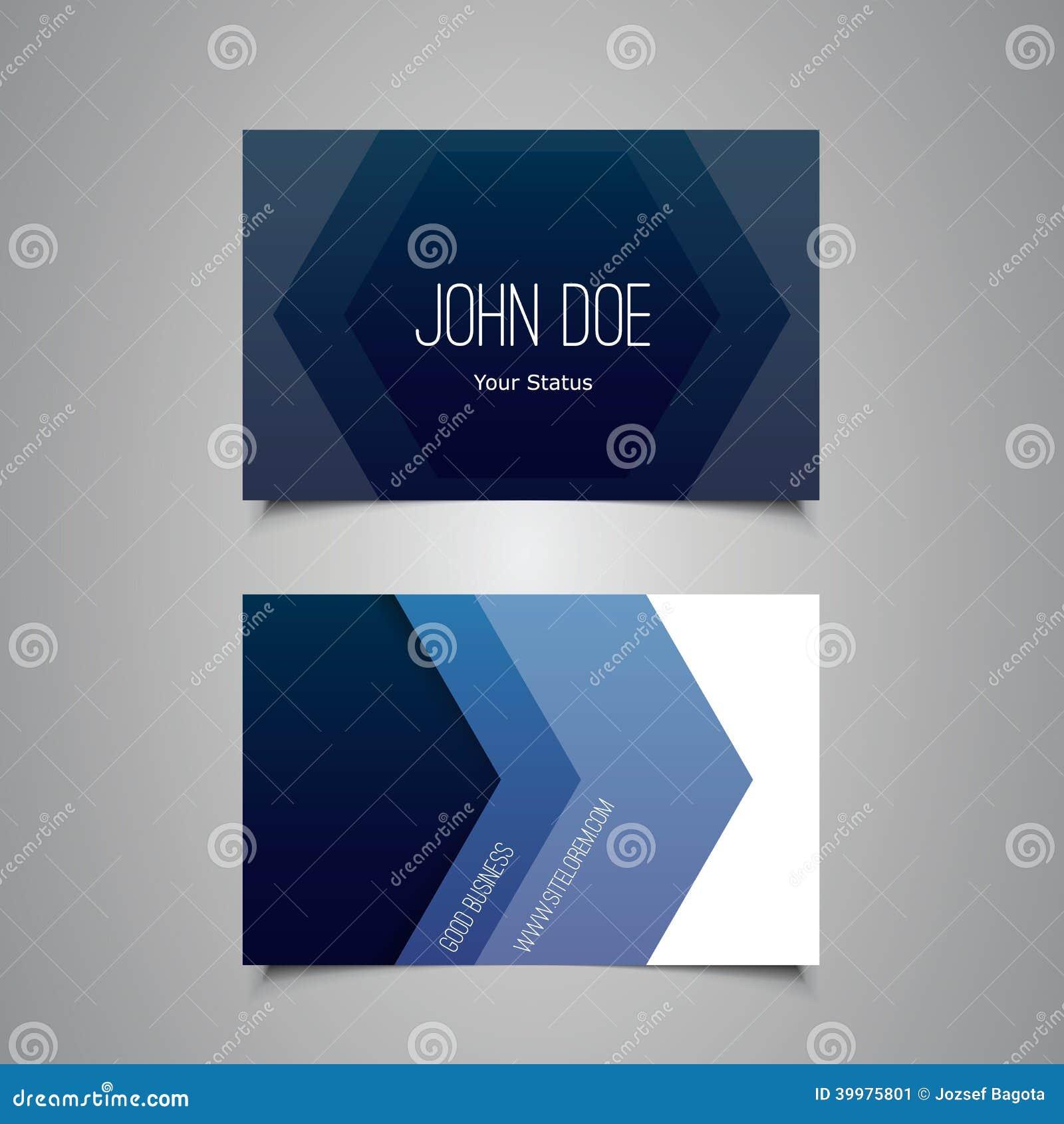 Affare o progettazione di carta del regalo con il modello blu