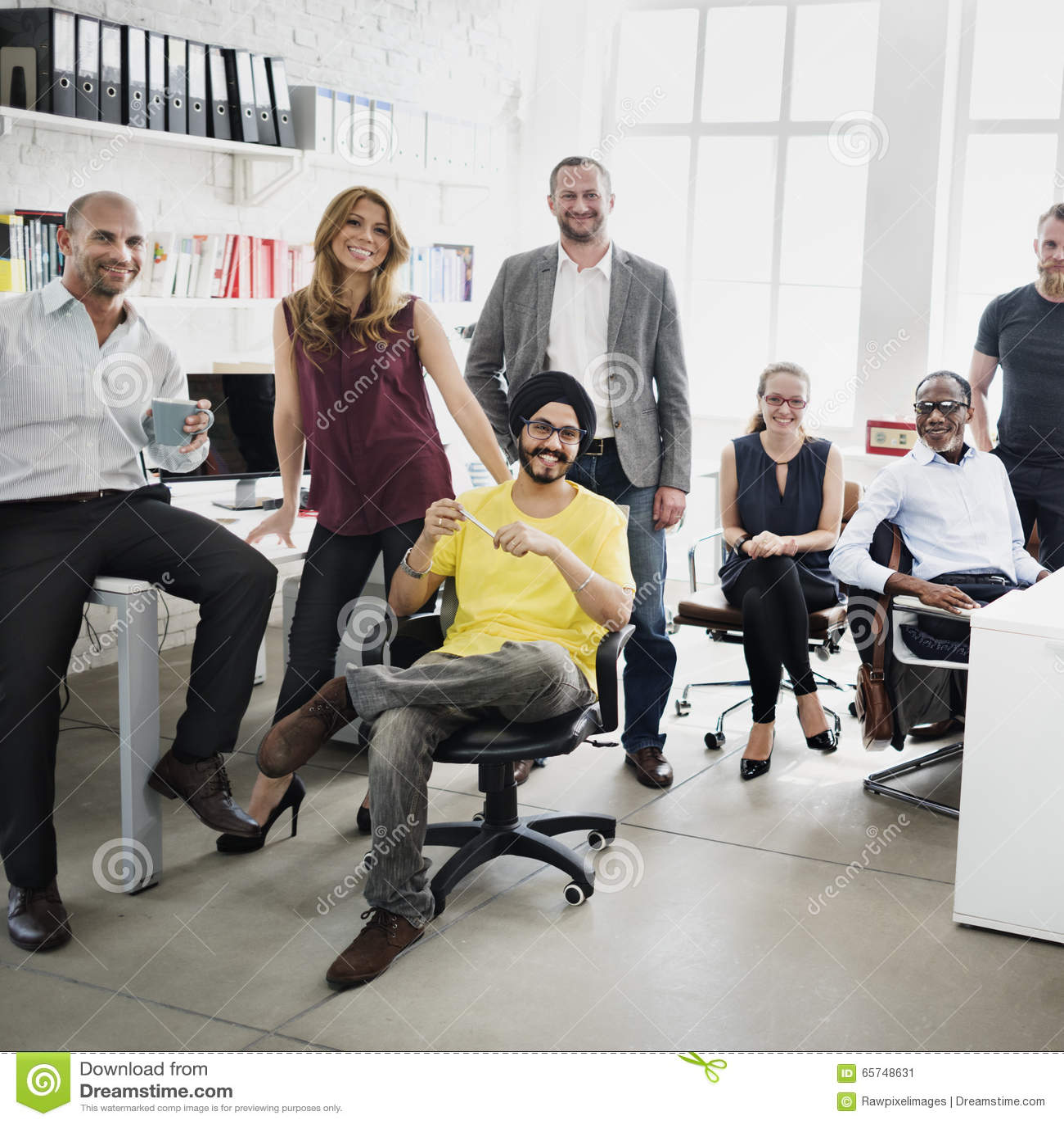 Affare Team Professional Occupation Workplace Concept