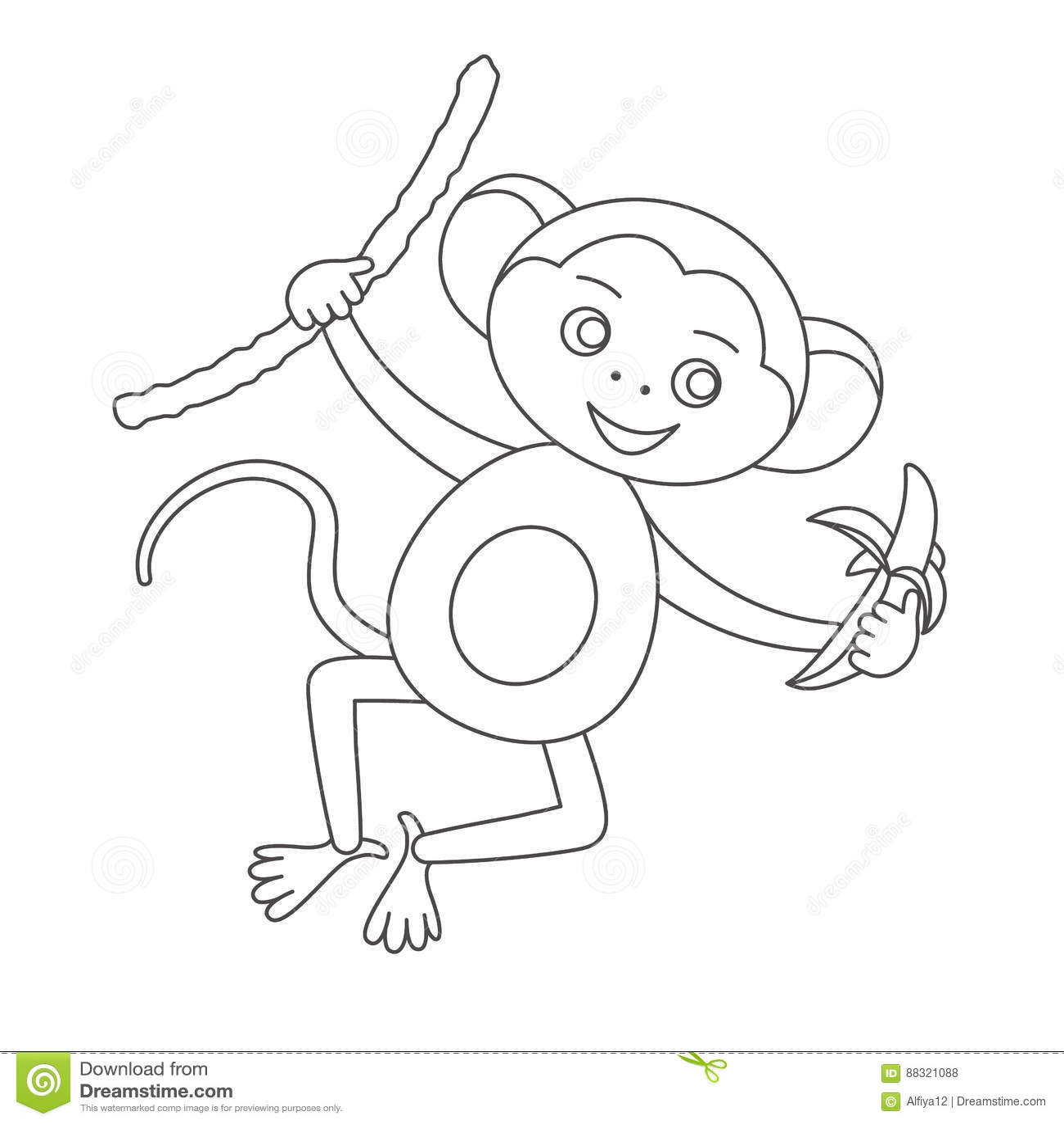 Schön Malvorlagen Von Baby Affen Bilder - Malvorlagen Ideen ...