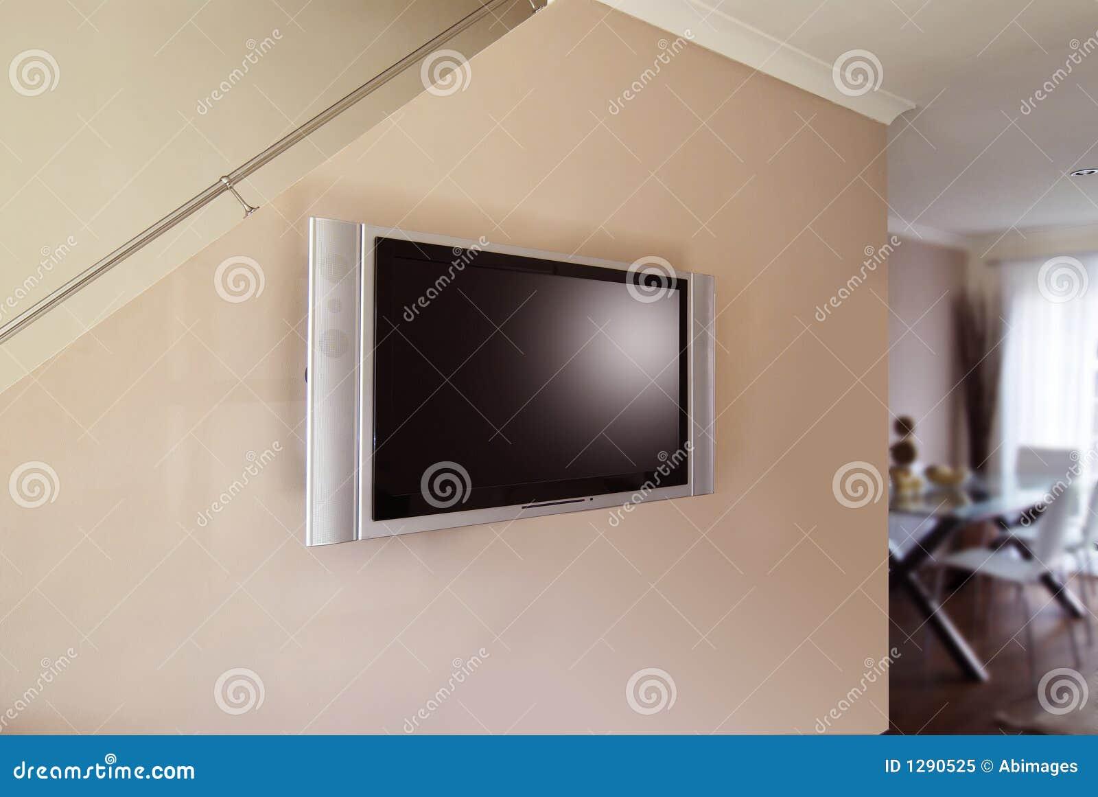 Affichage à cristaux liquides ou plasma TV
