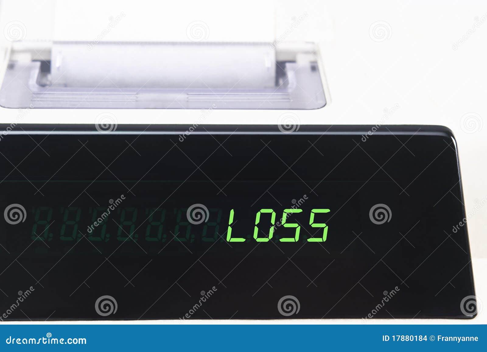Affichage de calculatrice - perte