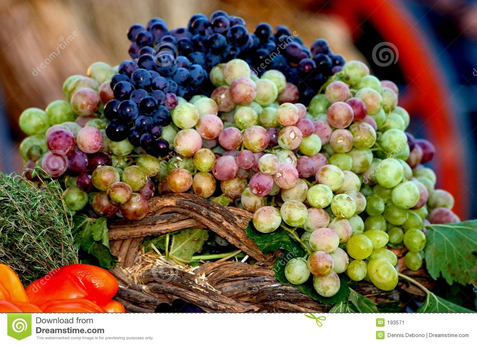 Affichage de raisin