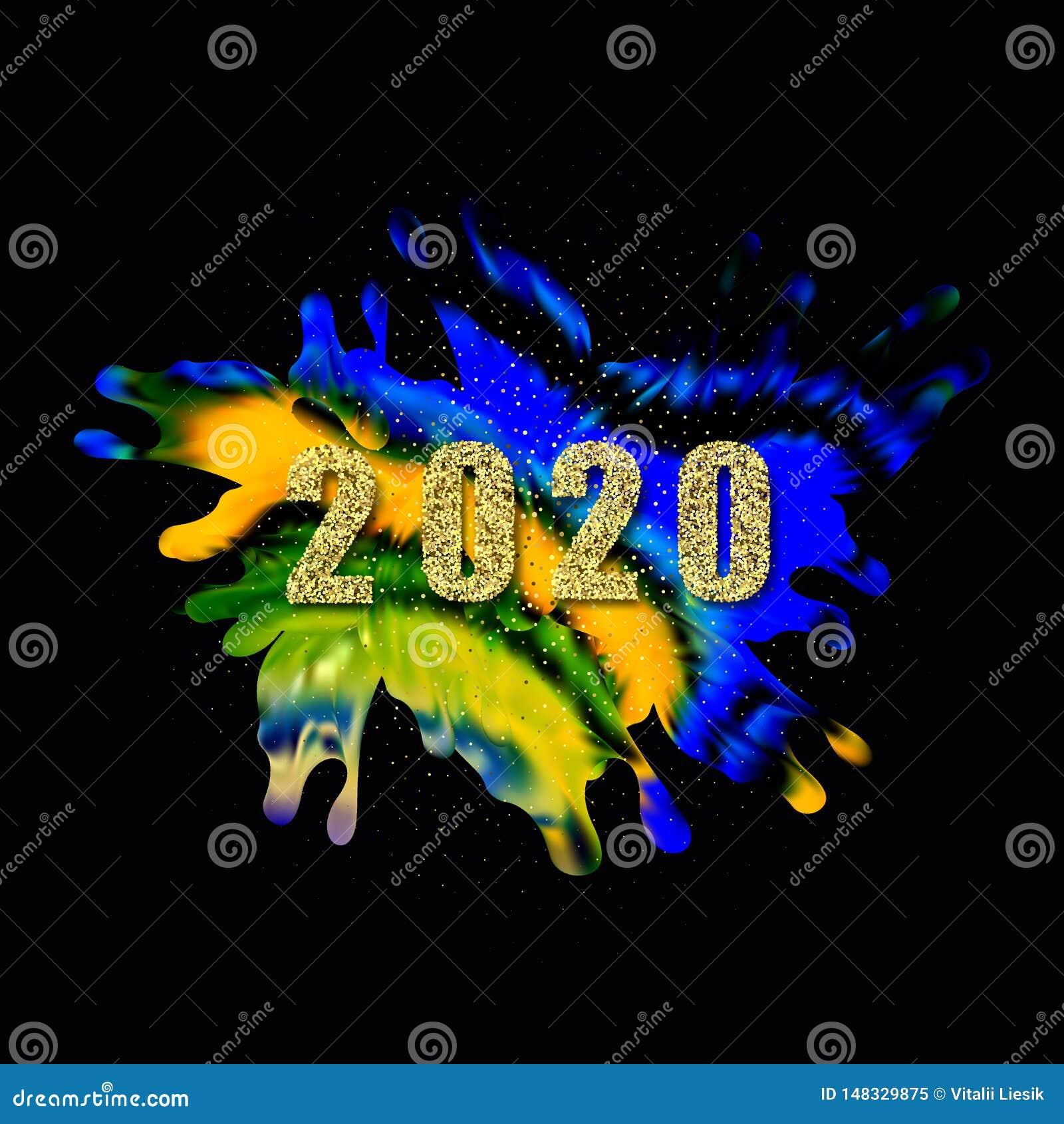 Affiche color?e moderne d ?coulement Fond liquide de couleur de forme de vague Conception d art pour votre projet de conception I