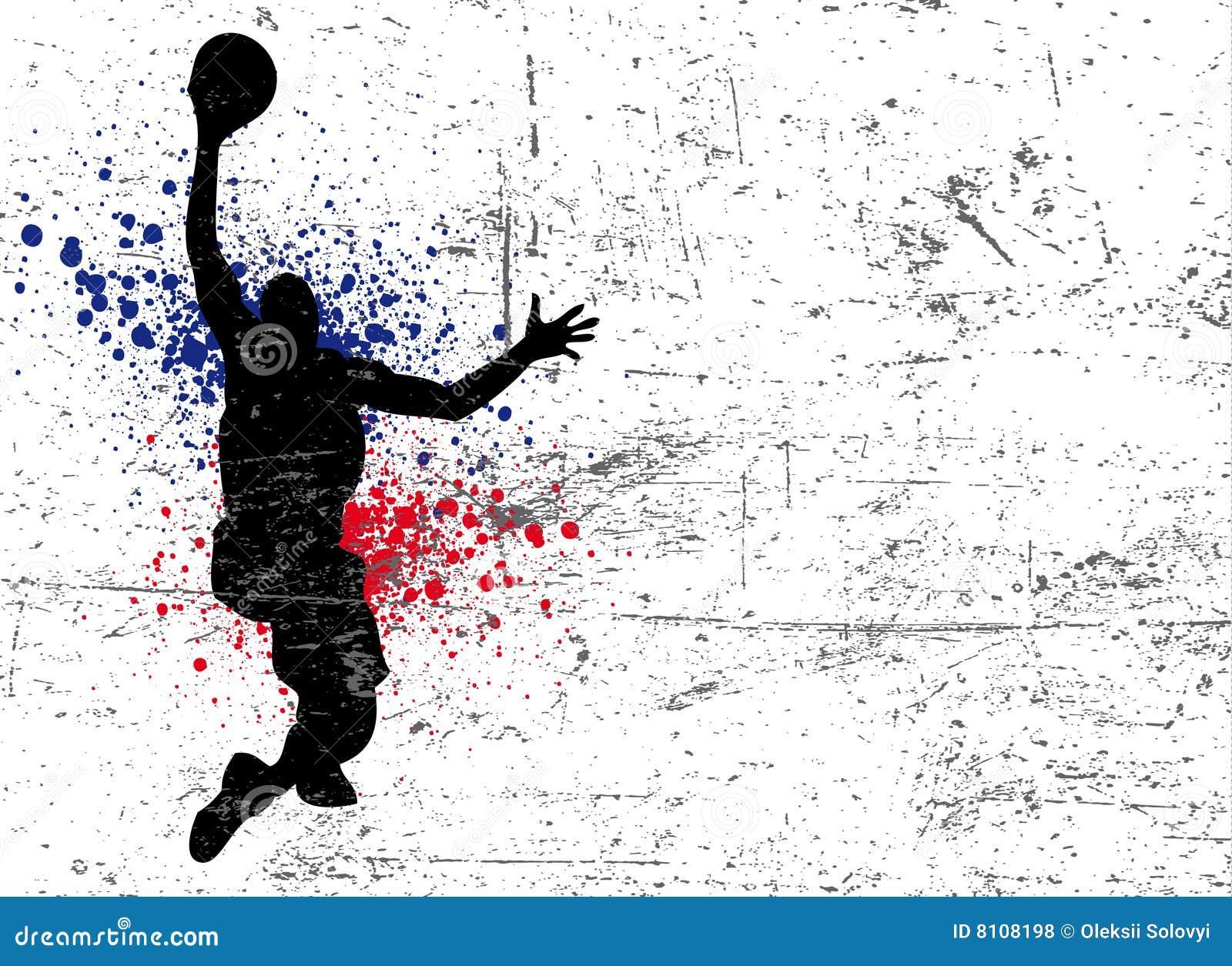 Affiche de basket-ball illustration de vecteur. Image du ...