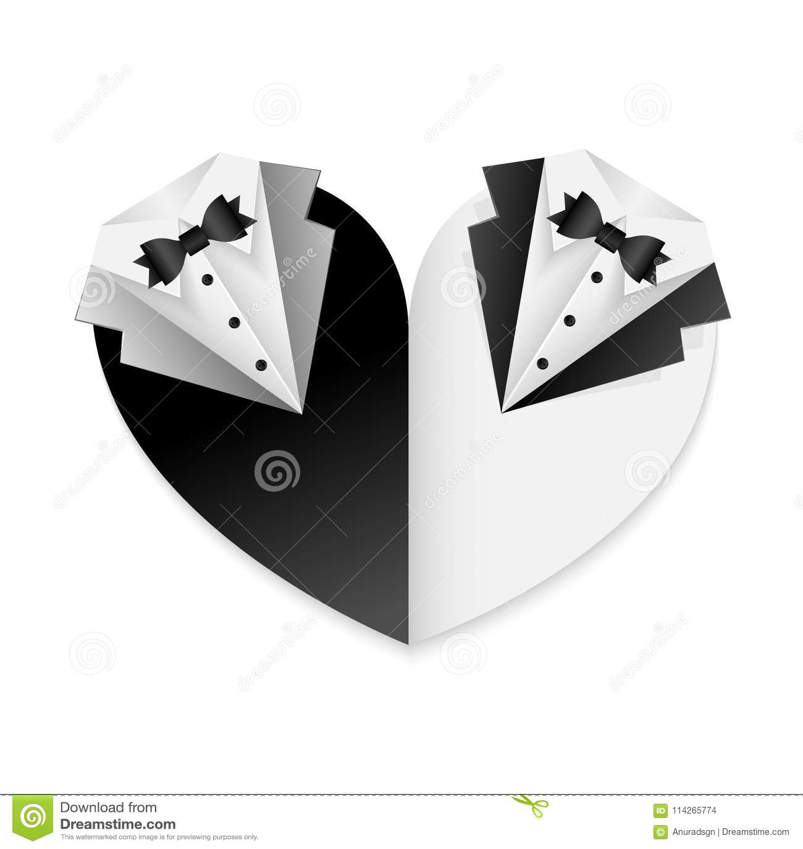 affiche gaie de carte de mariage de couples combinaison noire et blanche forme de coeur. Black Bedroom Furniture Sets. Home Design Ideas
