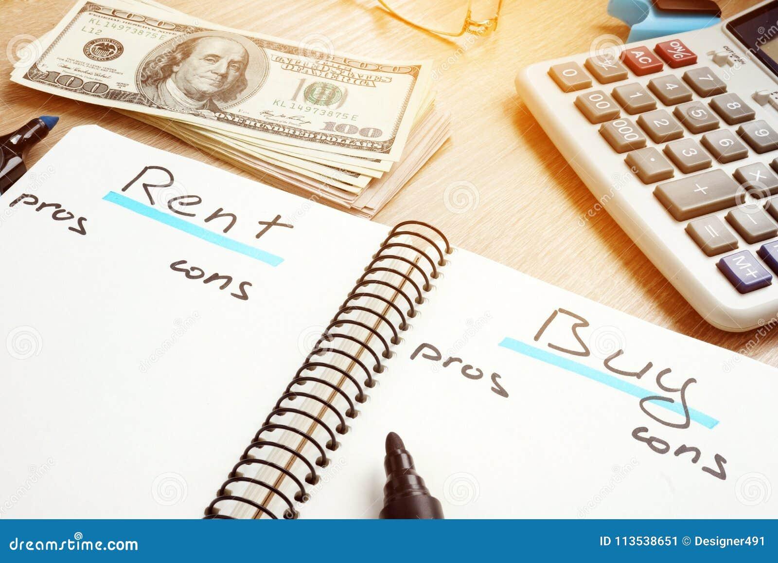 Affitti o compri i pro della casa - e - contro