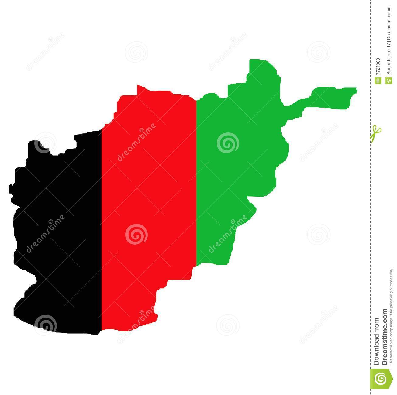Afghanistan White Flag