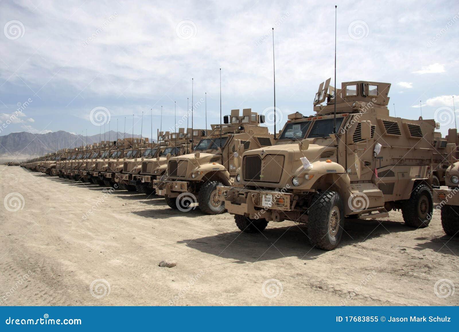 Afghanistan opancerzony zagadnienie przygotowywający pojazdy