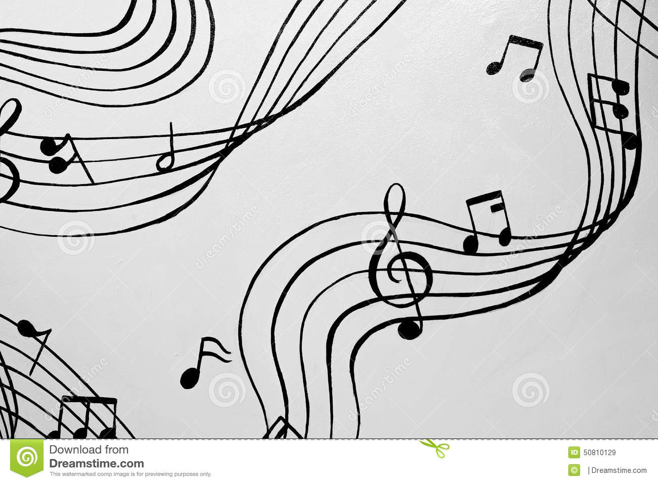 Aflutter of musical chords a illustration stock illustration aflutter of musical chords a illustration hexwebz Image collections