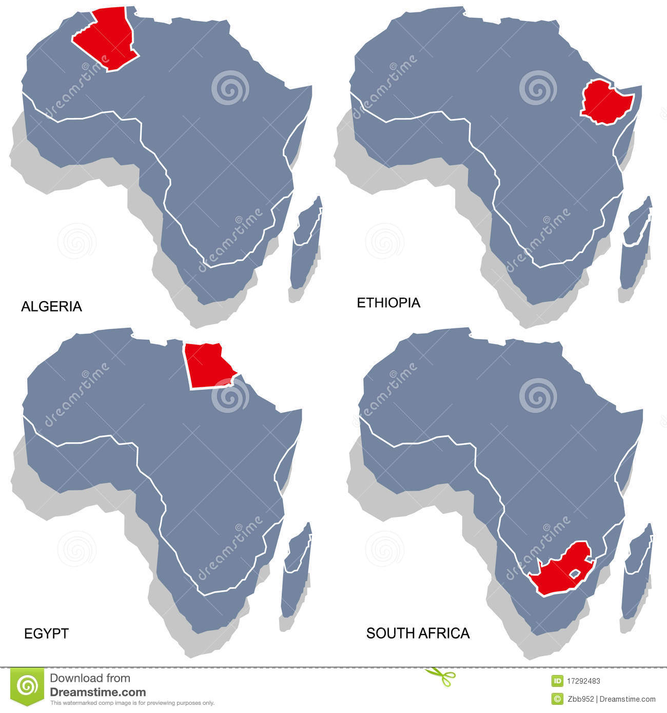 Africa D Map Stock Photos Image - Map of egypt 3d