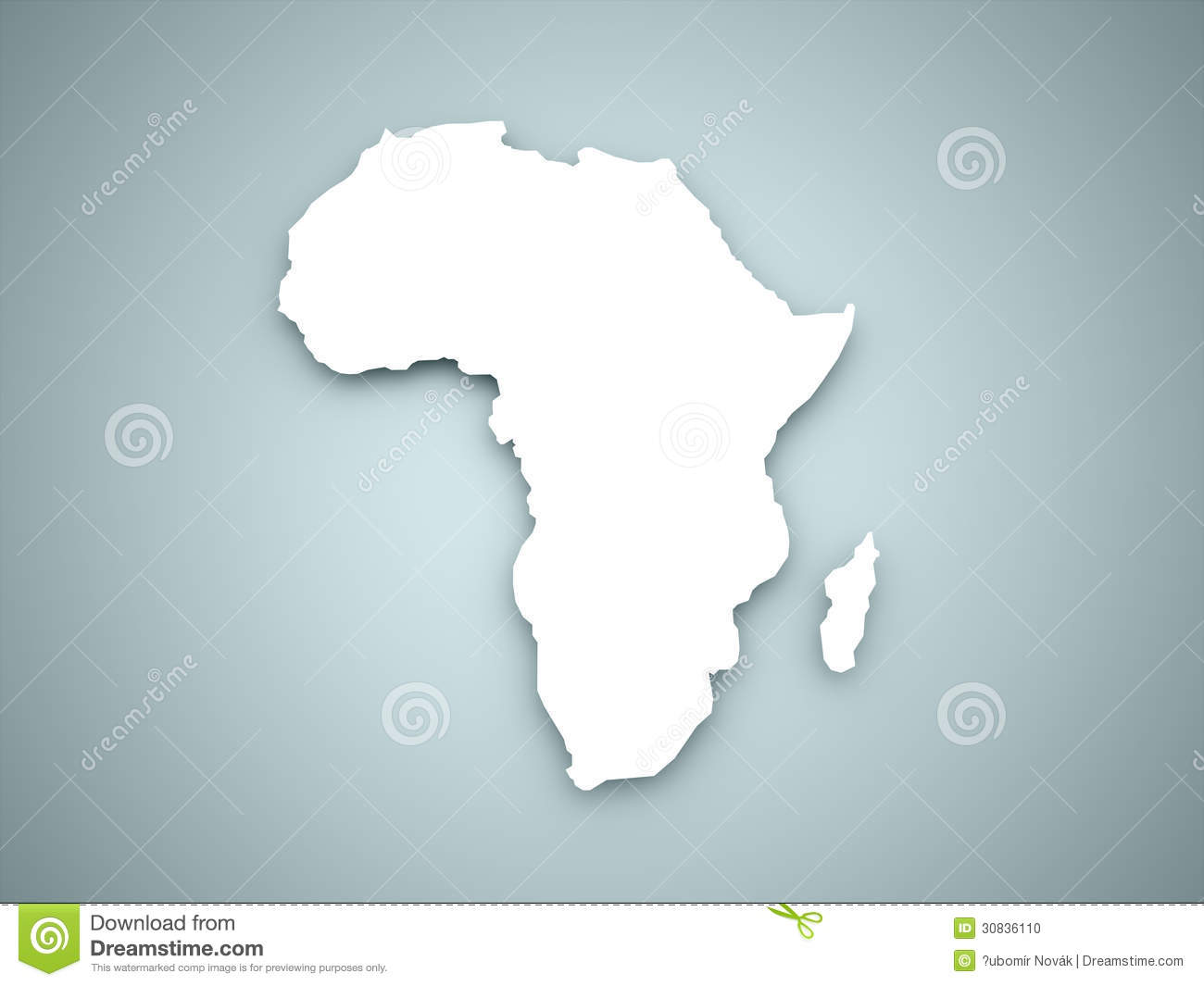 Africa Continent Stock Photo - Image: 30836110
