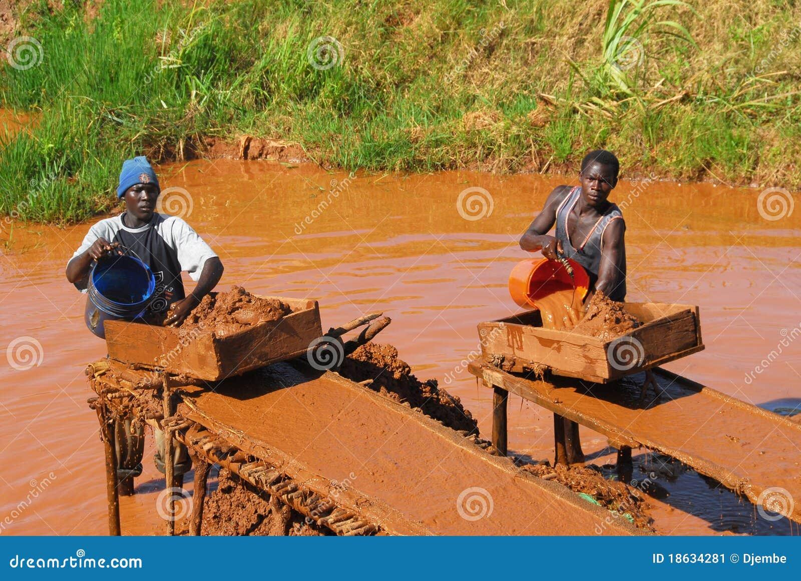 Africa gruvarbetare