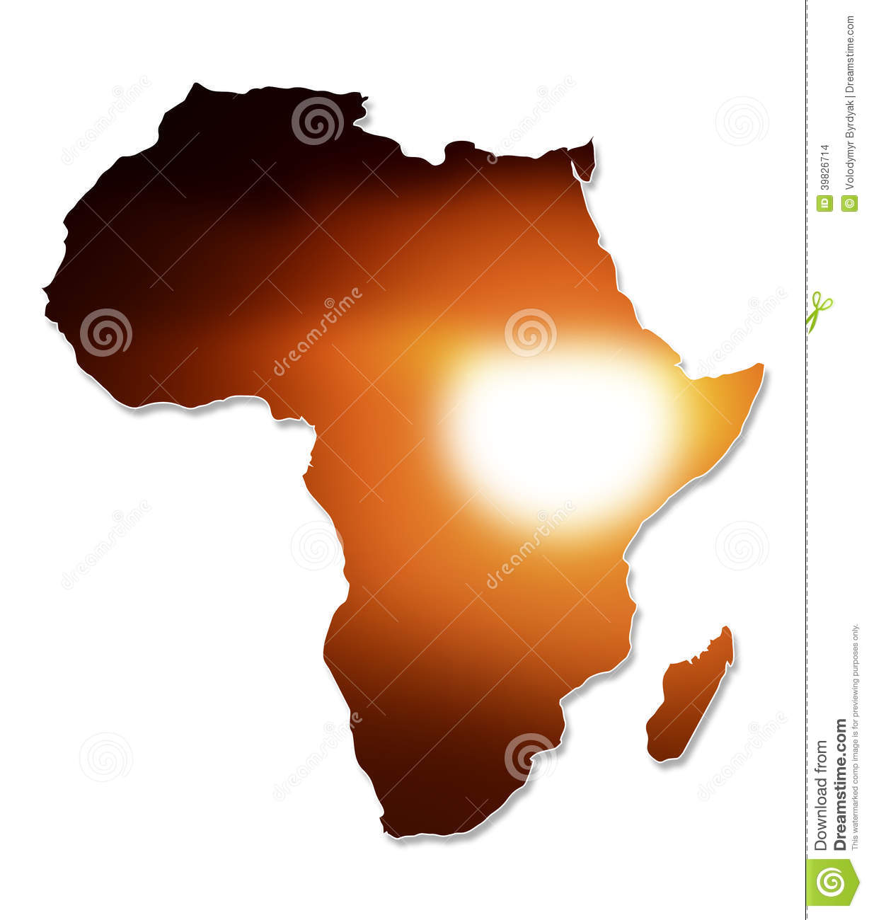 africa map art africa map design stock photo image 39826714 10025