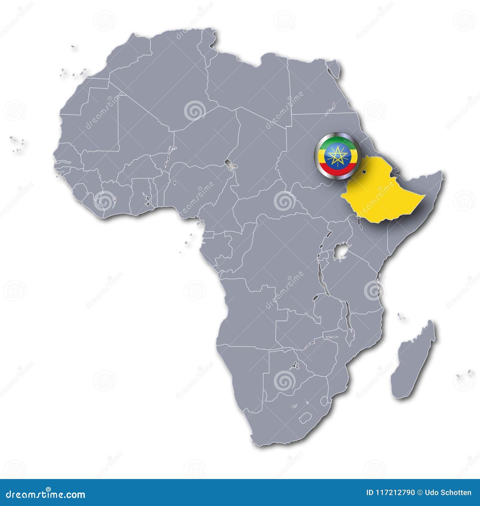 Africa map with ethiopia stock illustration illustration of voting download africa map with ethiopia stock illustration illustration of voting 117212790 gumiabroncs Choice Image