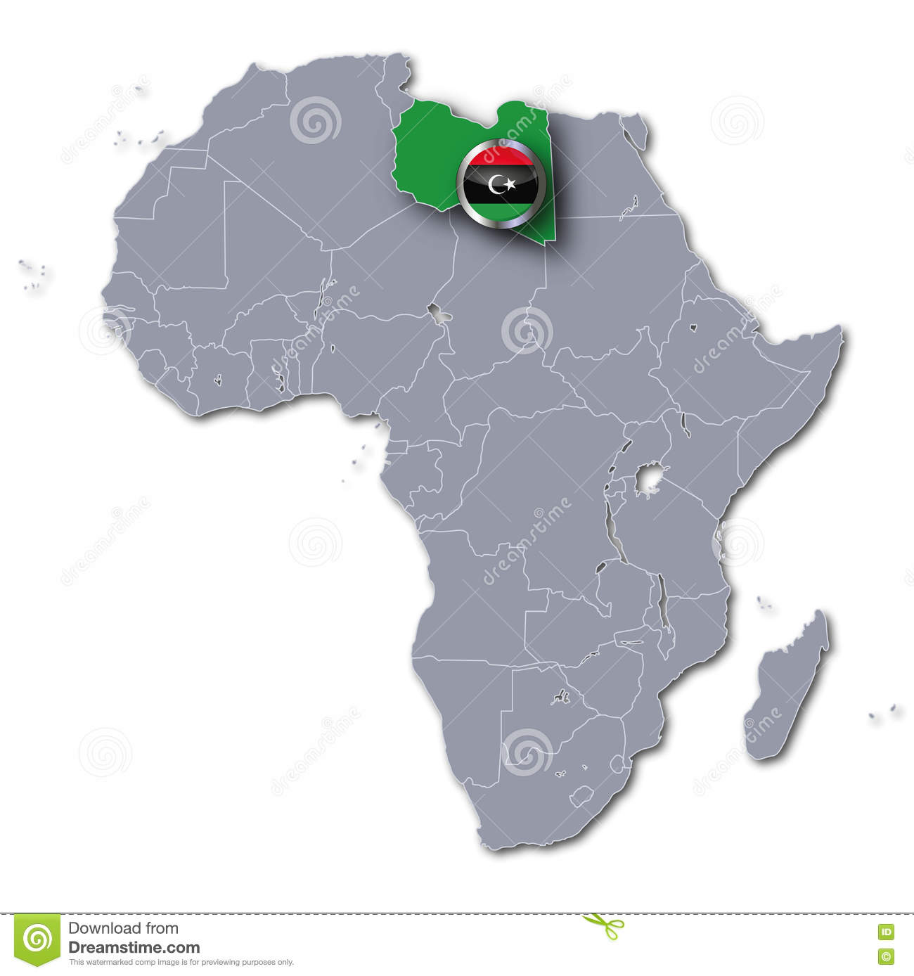 Africa map with libya stock photo image of borders geography download africa map with libya stock photo image of borders geography 70432018 publicscrutiny Gallery