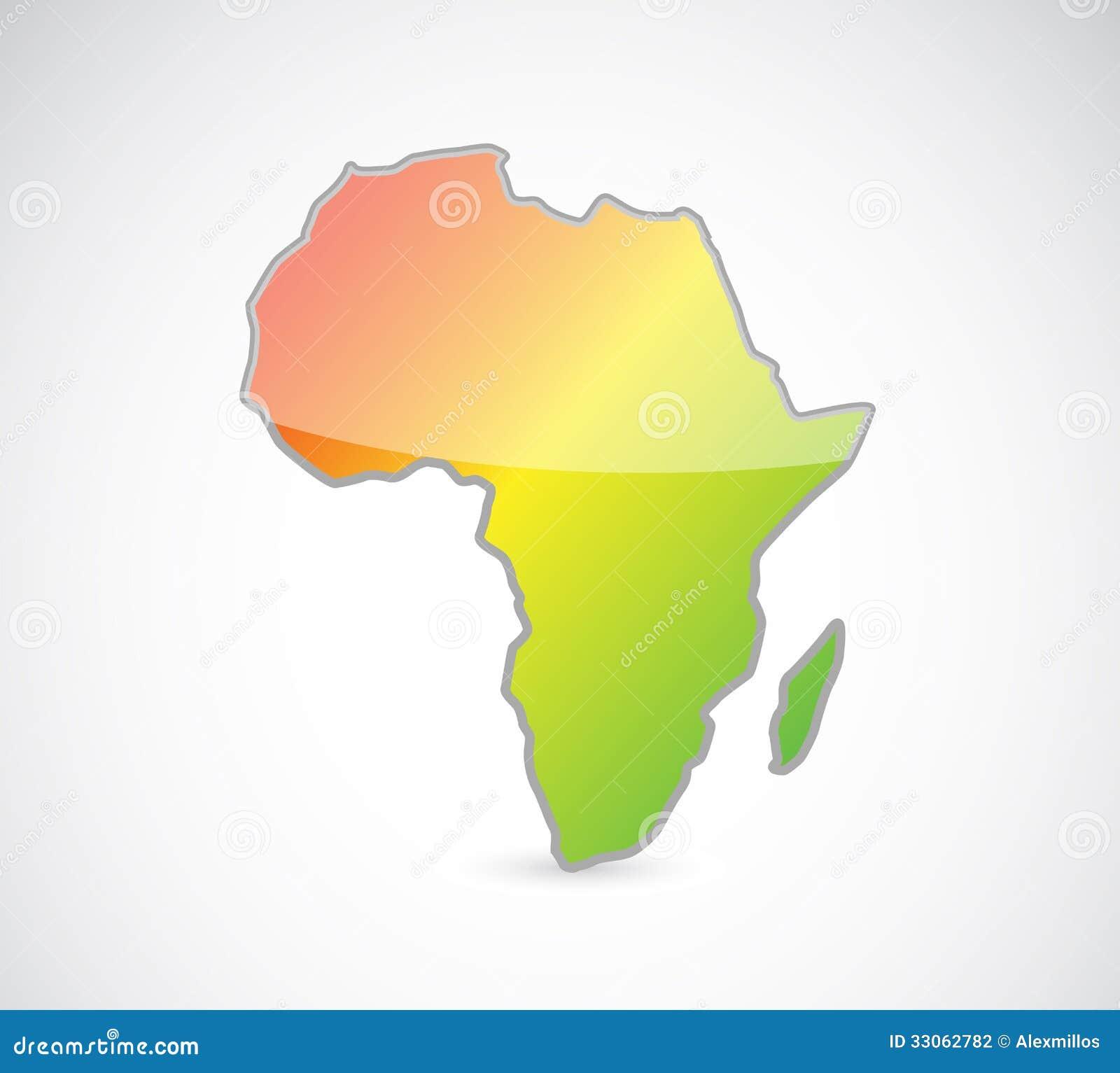 africa map designs
