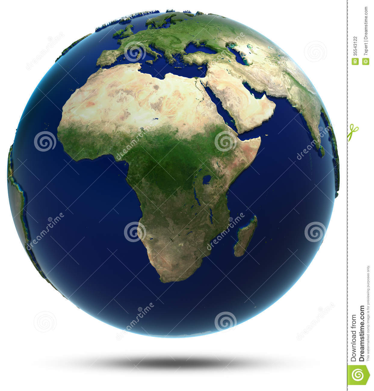 Map Of Africa From Space.Africa Map From Space Stock Illustration Illustration Of Bird