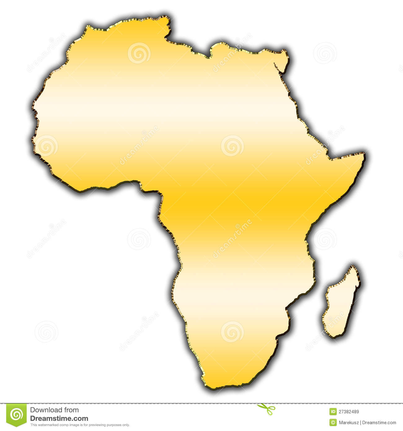 More similar stock images of ` Africa outline map `
