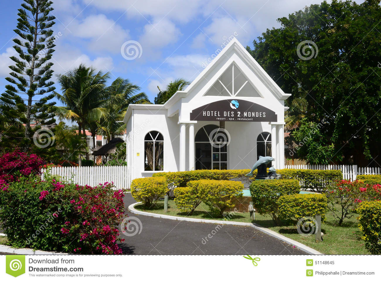 Hotel Des 2 Mondes Resort Spa Africa The Picturesque Village Of Mont Choisy In Mauritius