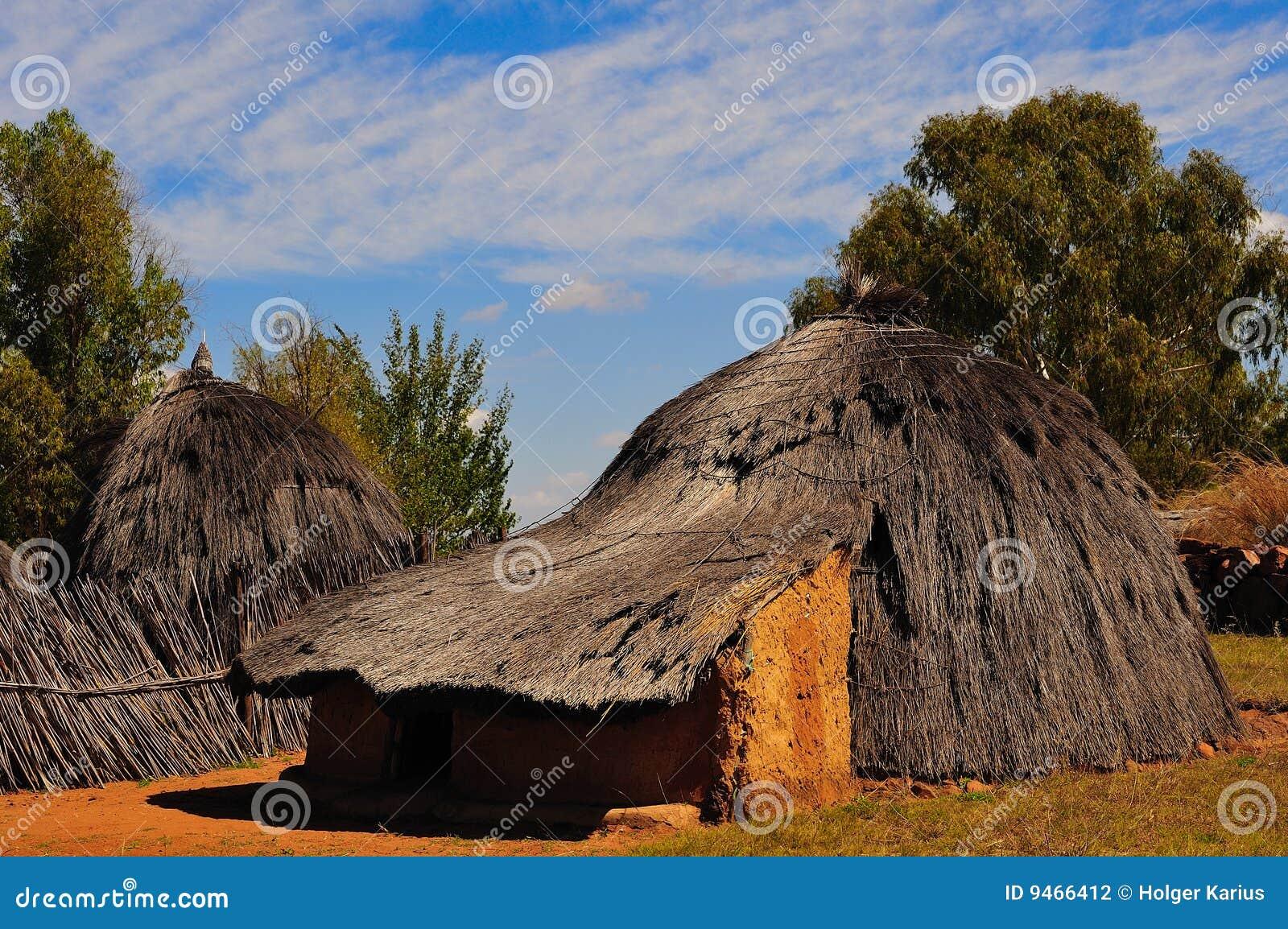 Africa rondavel południe
