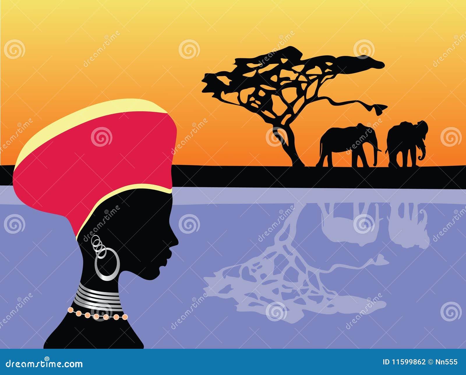 Africa scena