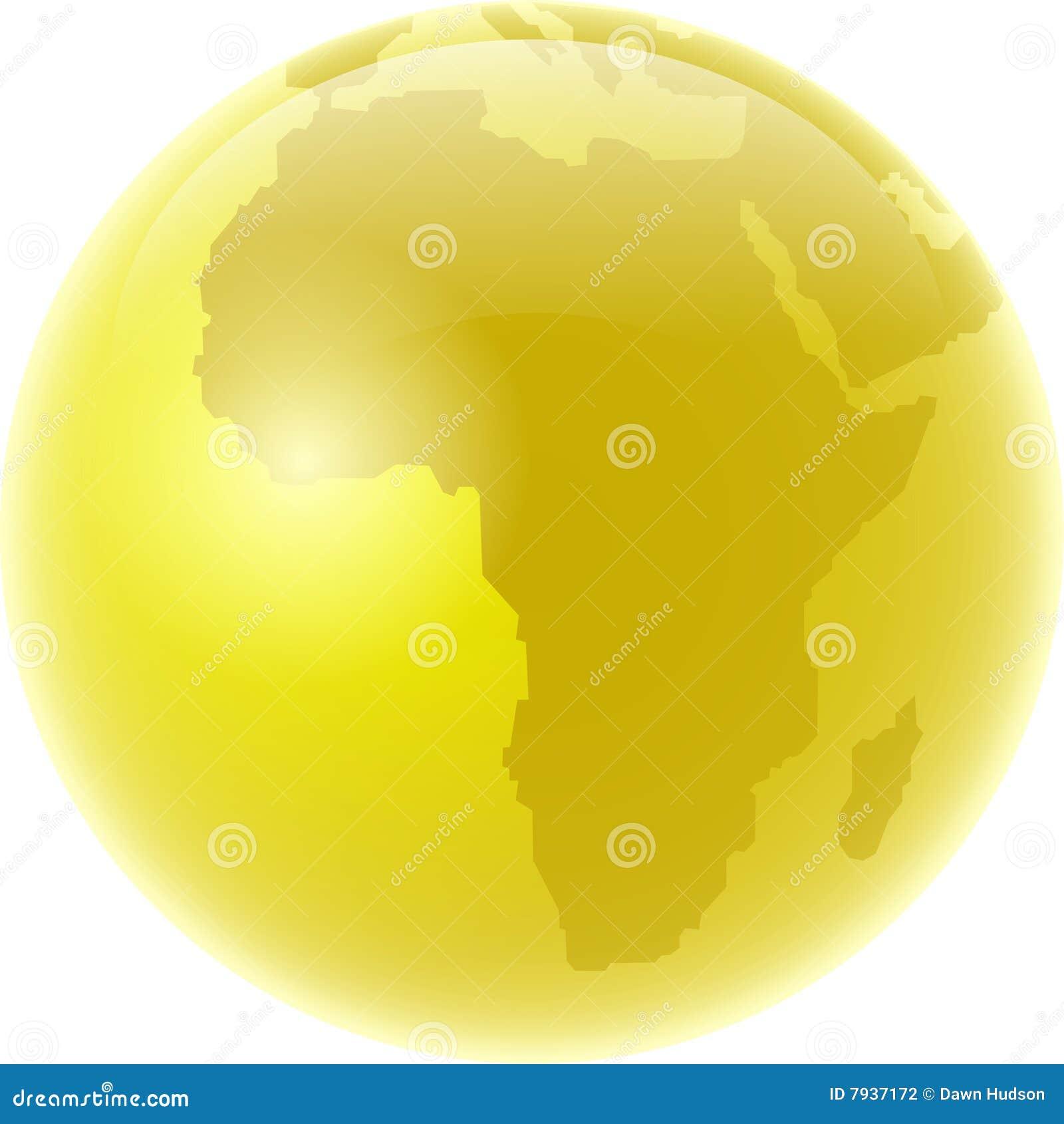 Africa złoty