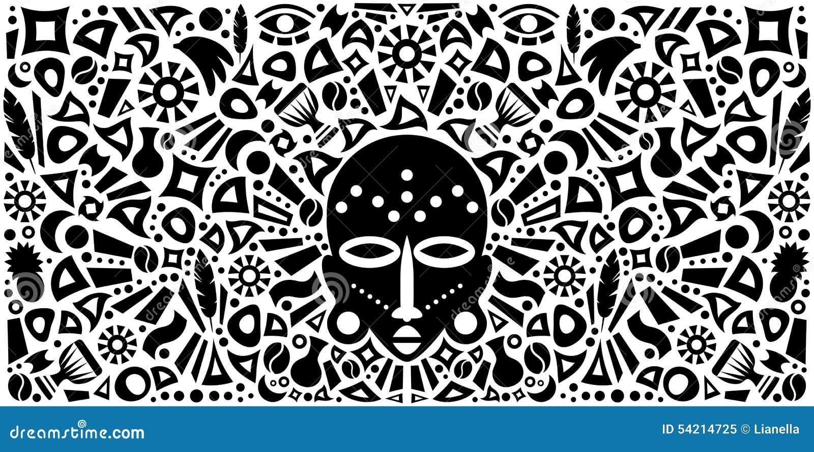 Tribal Mask Concept Art