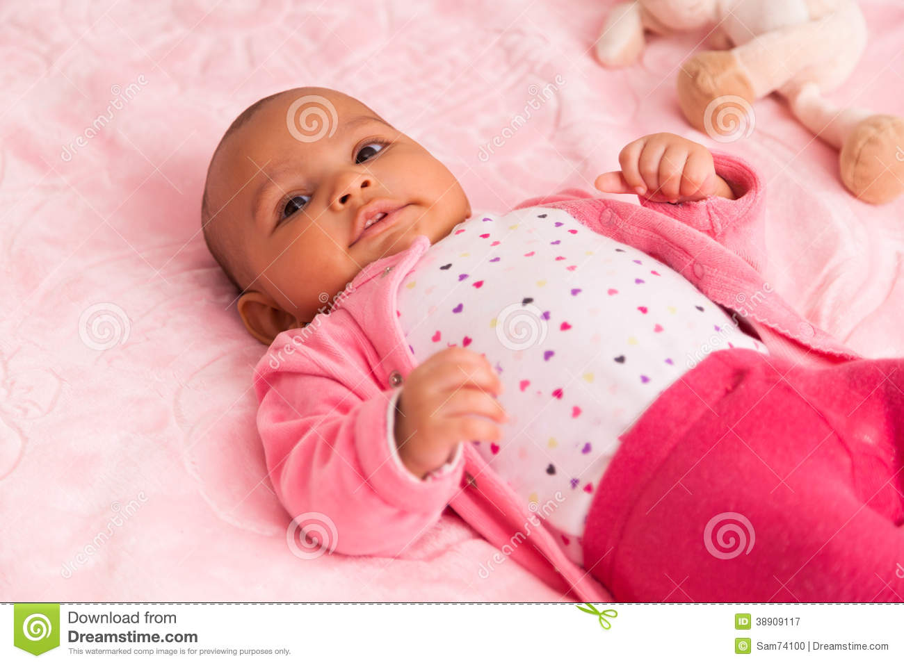 African American Newborn Baby Girl Pictures To Pin On