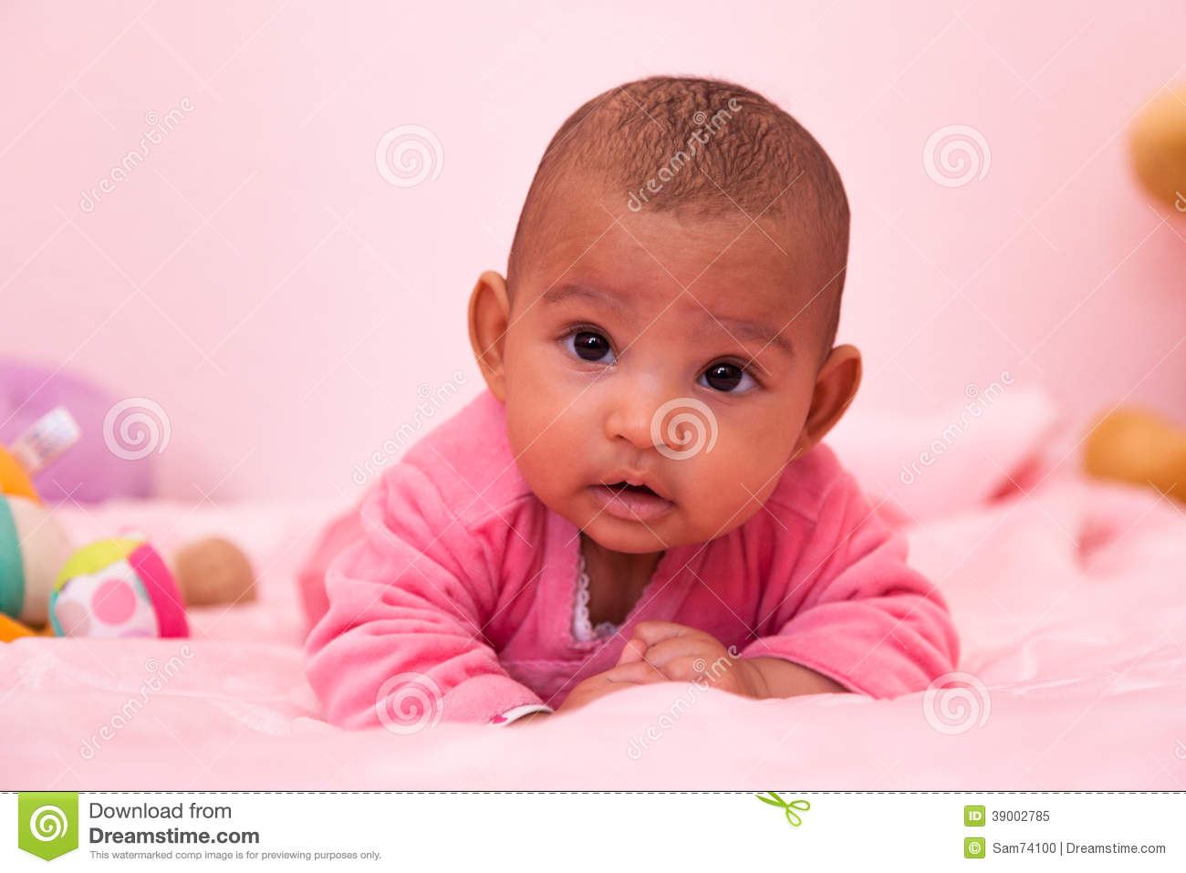 African american baby girl black people stock photo image 39002785 - African american baby pics ...